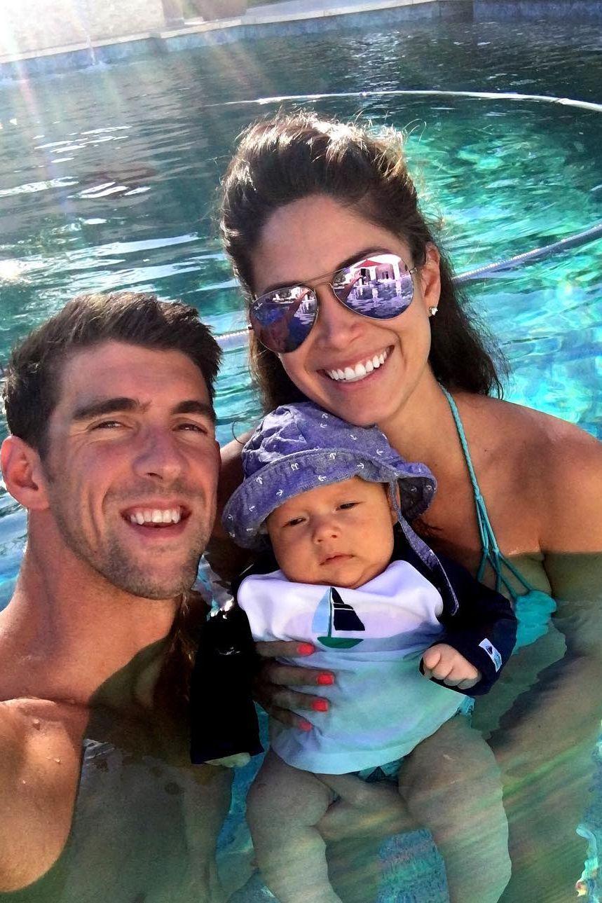 Michael Phelps e Nicole Johnson casaram em segredo