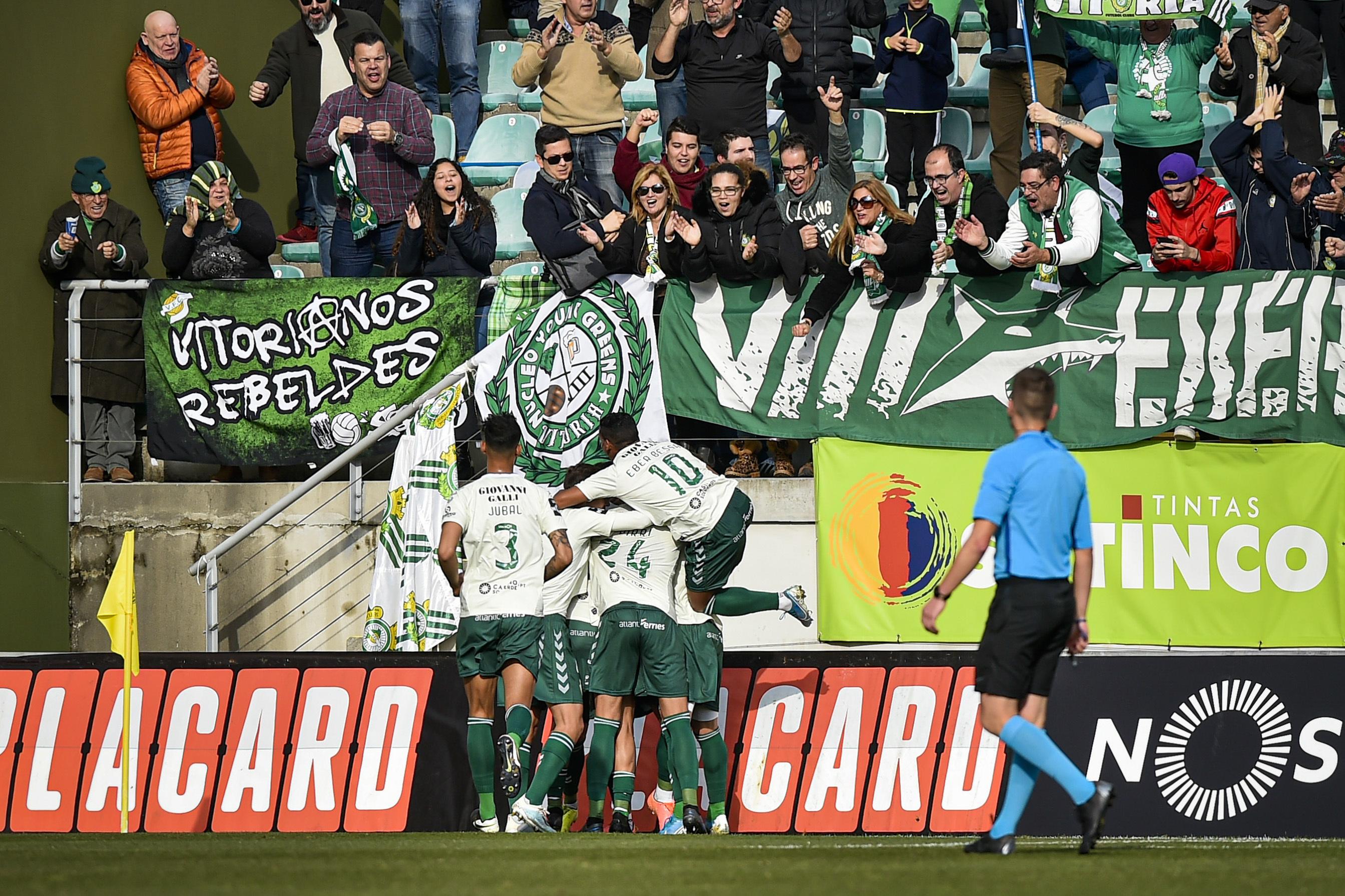 Vitória de Setúbal vence em Tondela e sobe ao oitavo lugar da I Liga