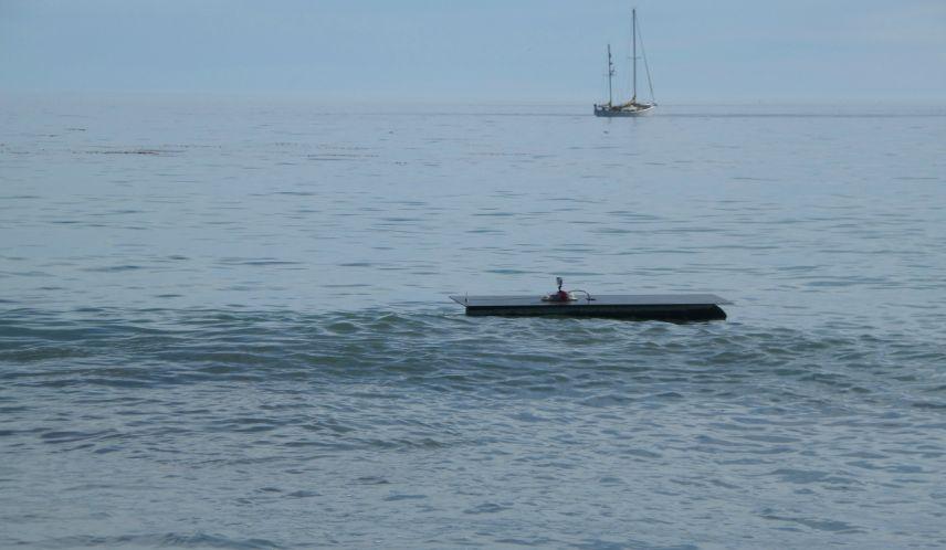 Barco autónomo vai viajar entre Califórnia e Havai só com energia solar