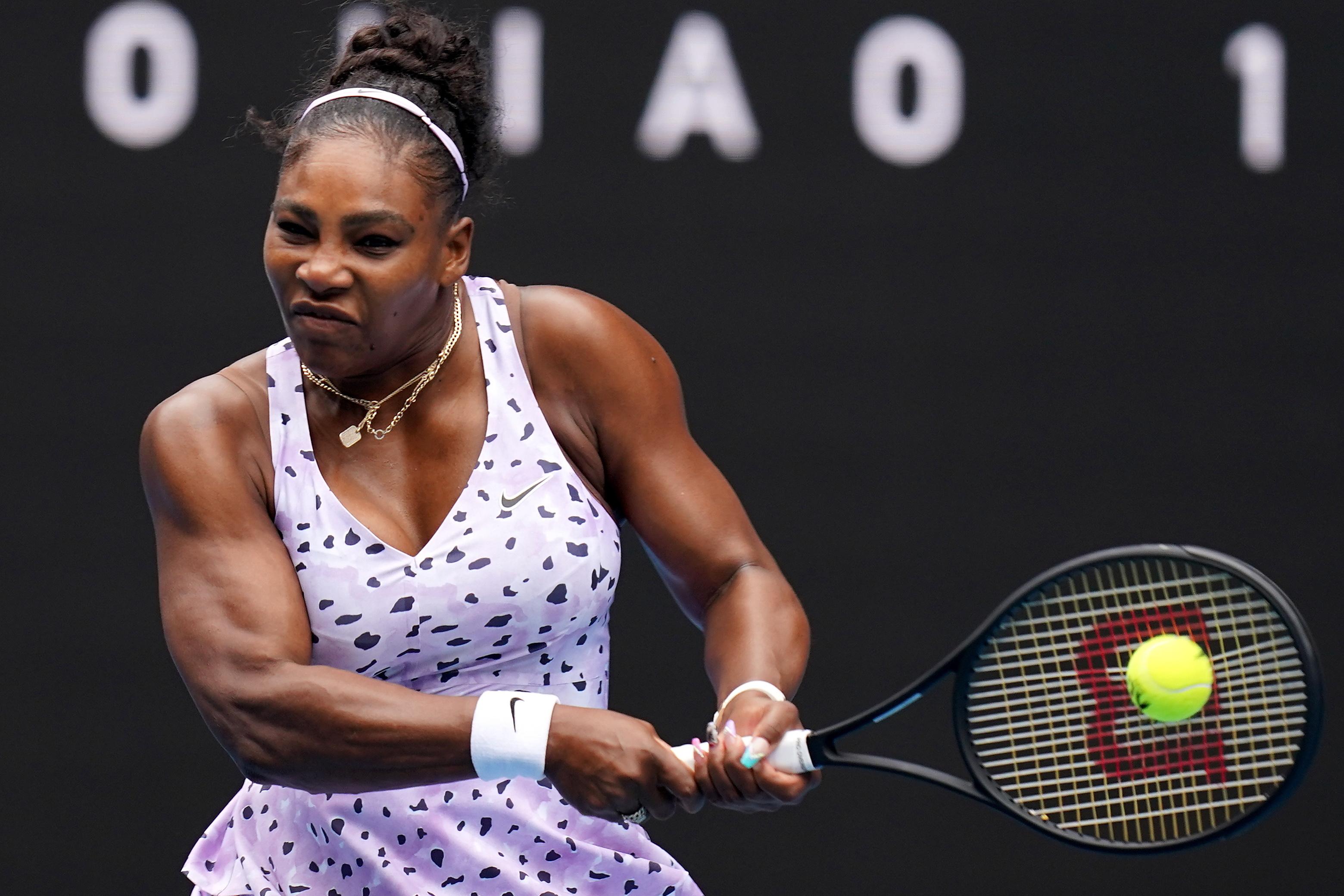 Serena Williams avança para a segunda ronda do Open da Austrália