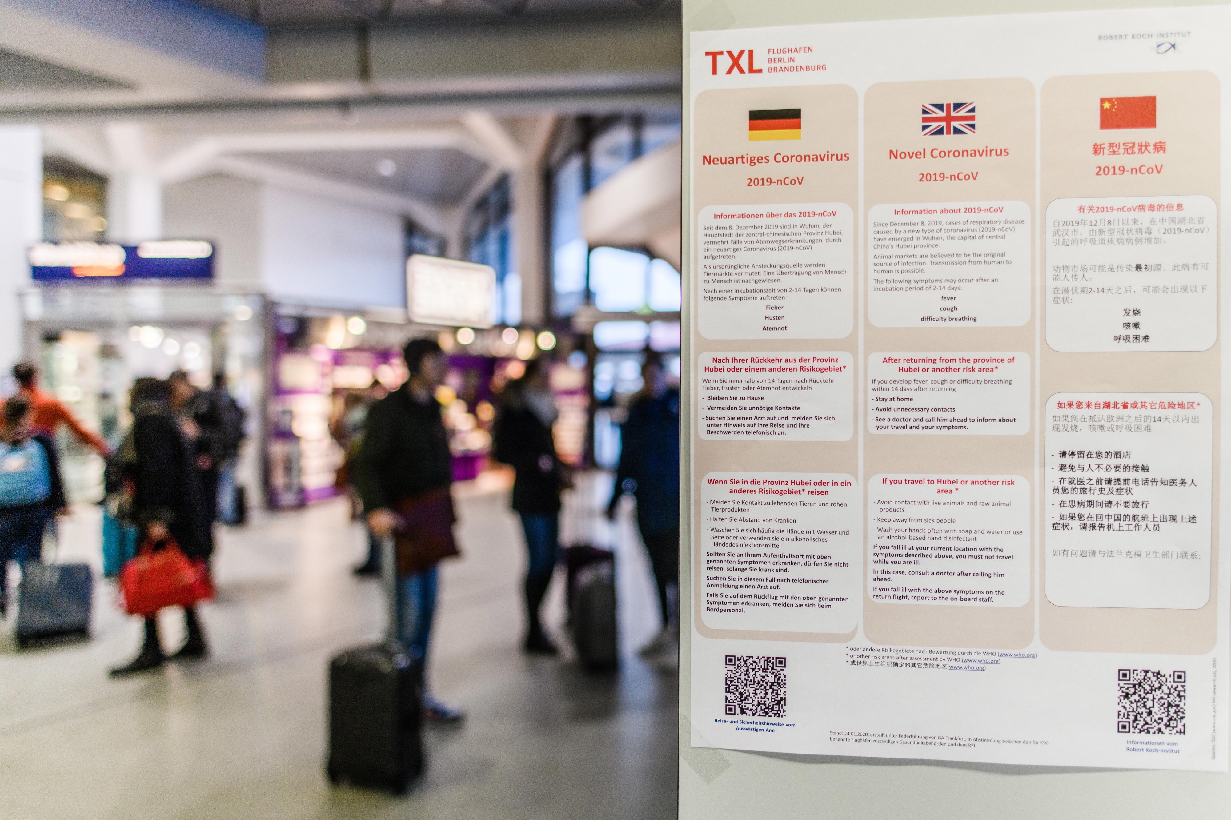 """Governo português desaconselha """"viagens não essenciais"""" à China devido ao novo coronavírus"""