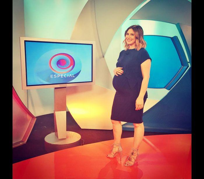 Sofia Cerveira gravou o último programa antes de ser mãe