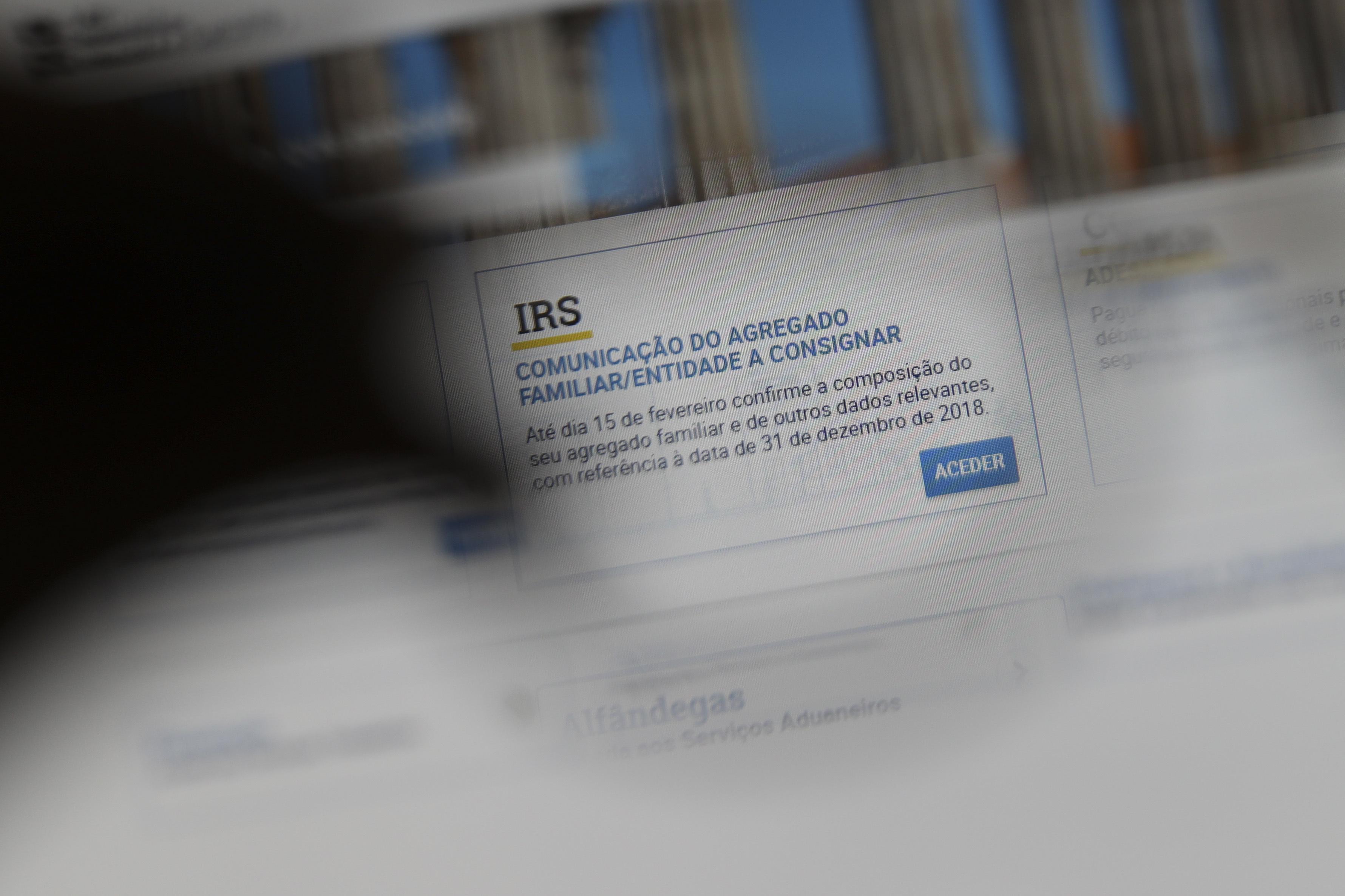 IRS automático avança em separado para casais que não validem a declaração