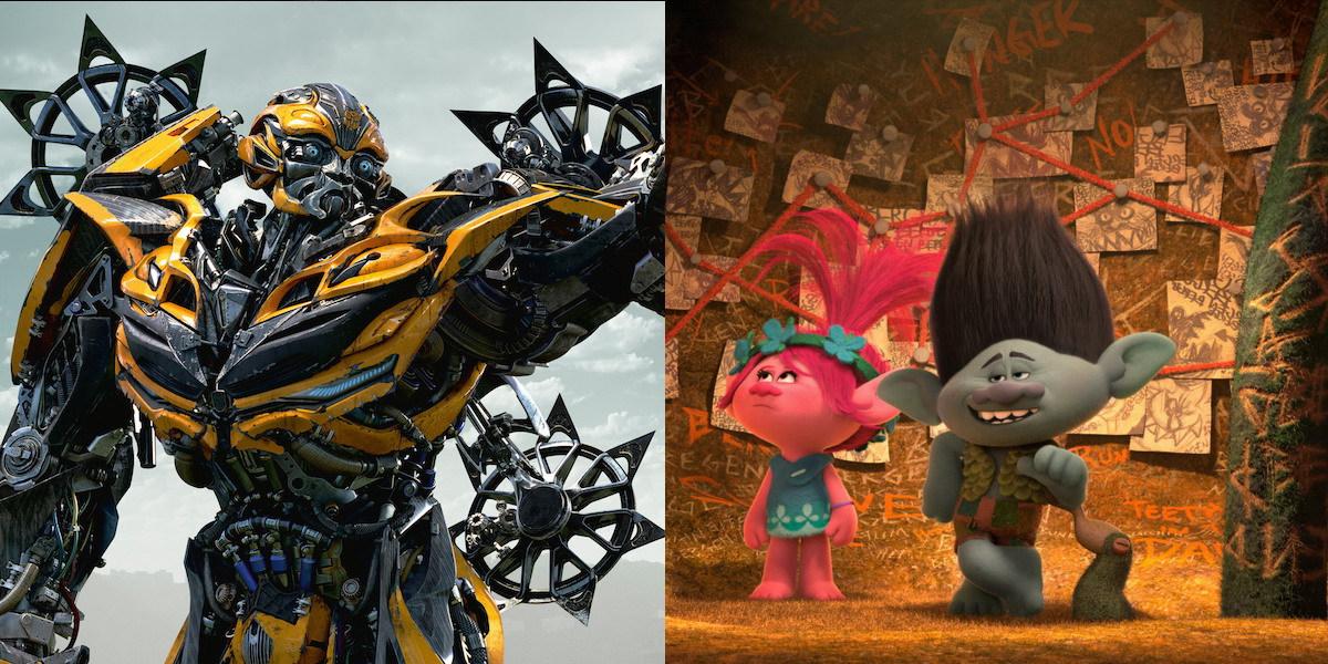 """De """"Transformers"""" a """"Trolls"""": Quando os brinquedos ganharam vida no cinema"""