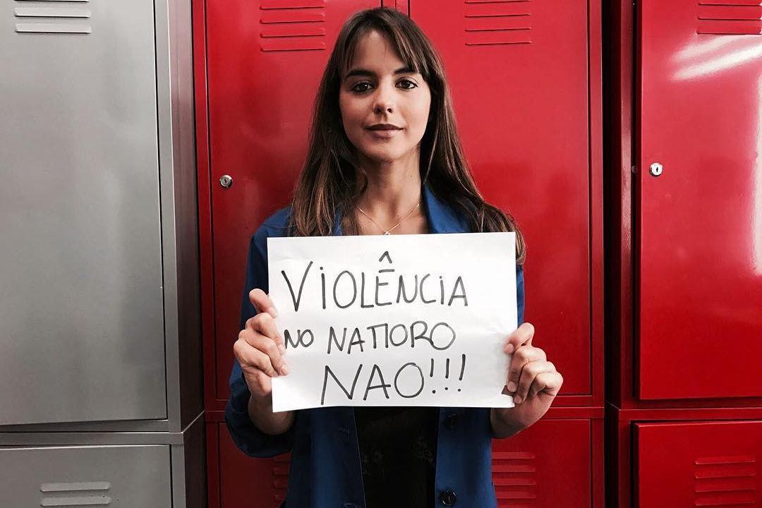 Sara Matos diz não à violência no namoro
