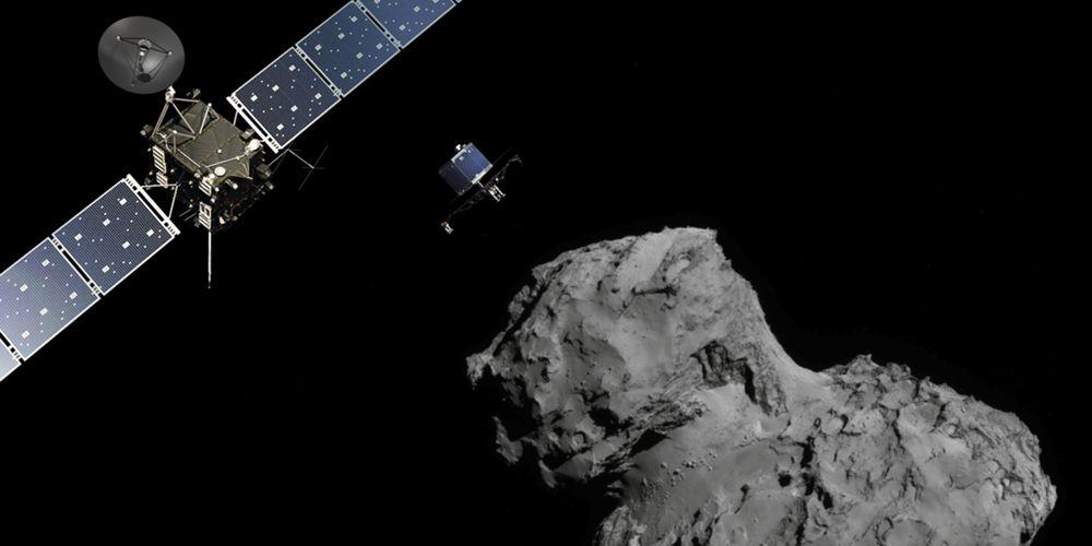 Contagem decrescente: namoro da Rosetta com cometa 67P quase a chegar ao fim