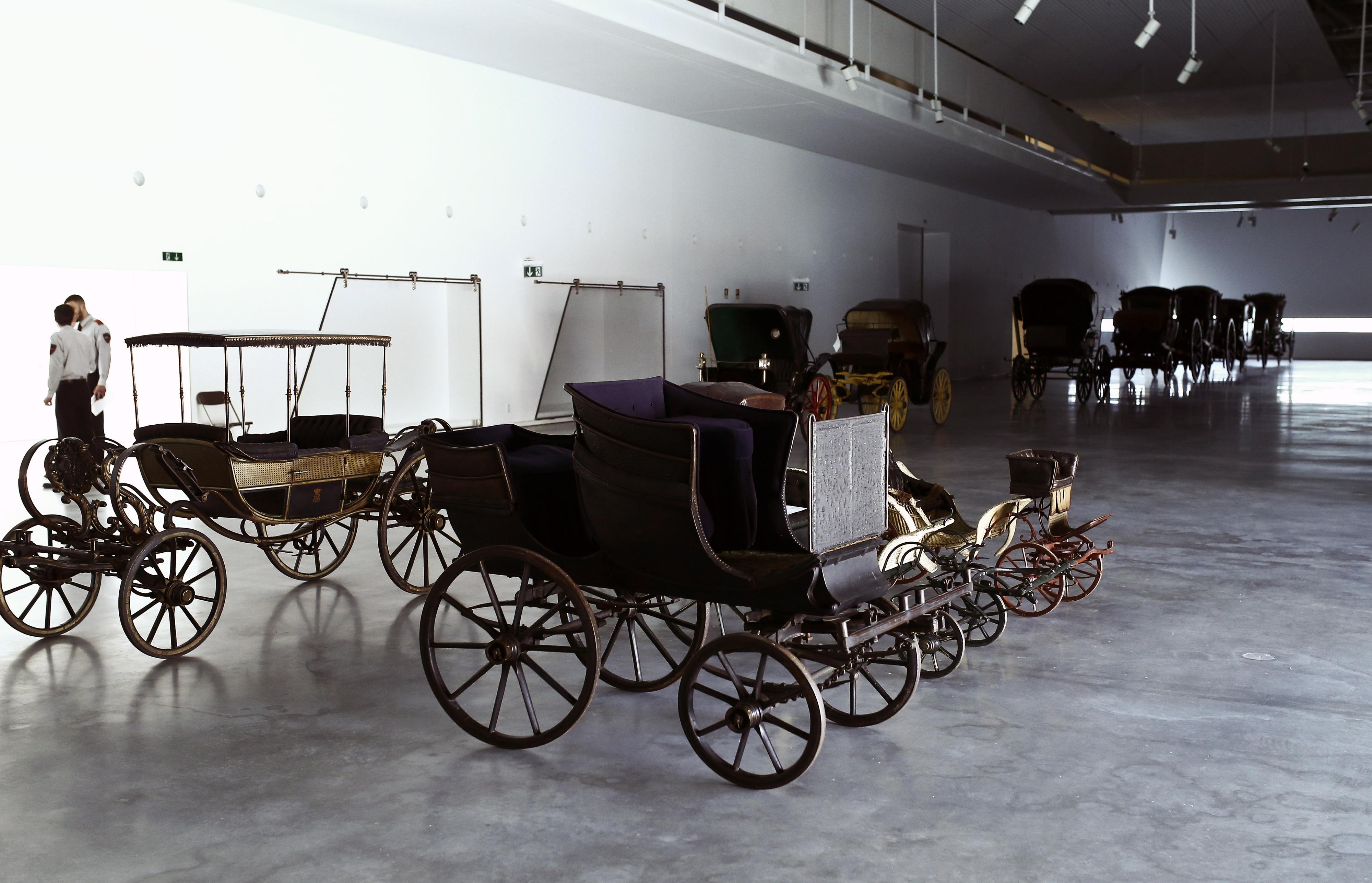 Museu dos Coches encerra hoje para instalação do projeto expositivo