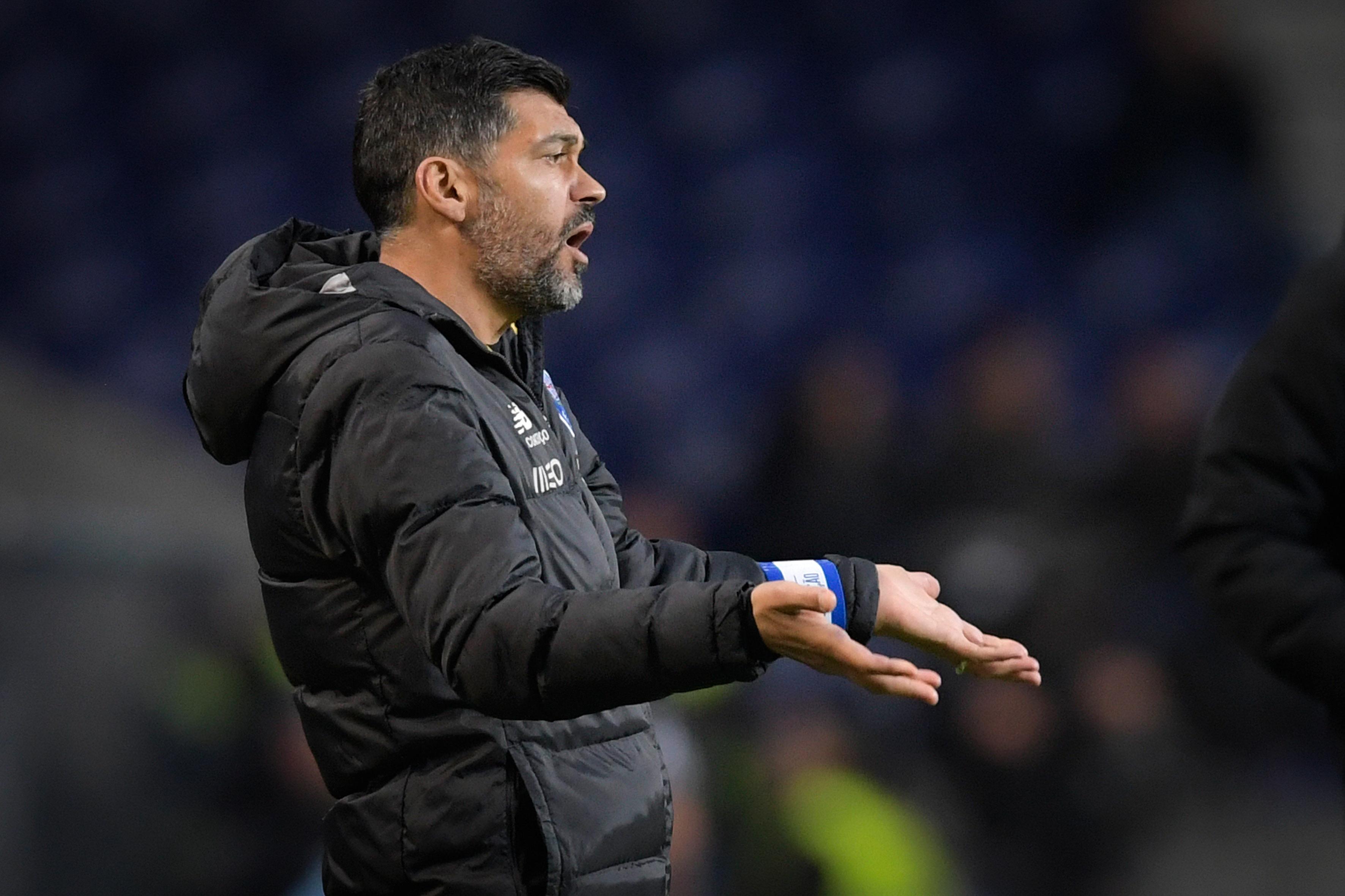 Sérgio Conceição prevê dificuldades apesar de situação do Portimonense na Liga