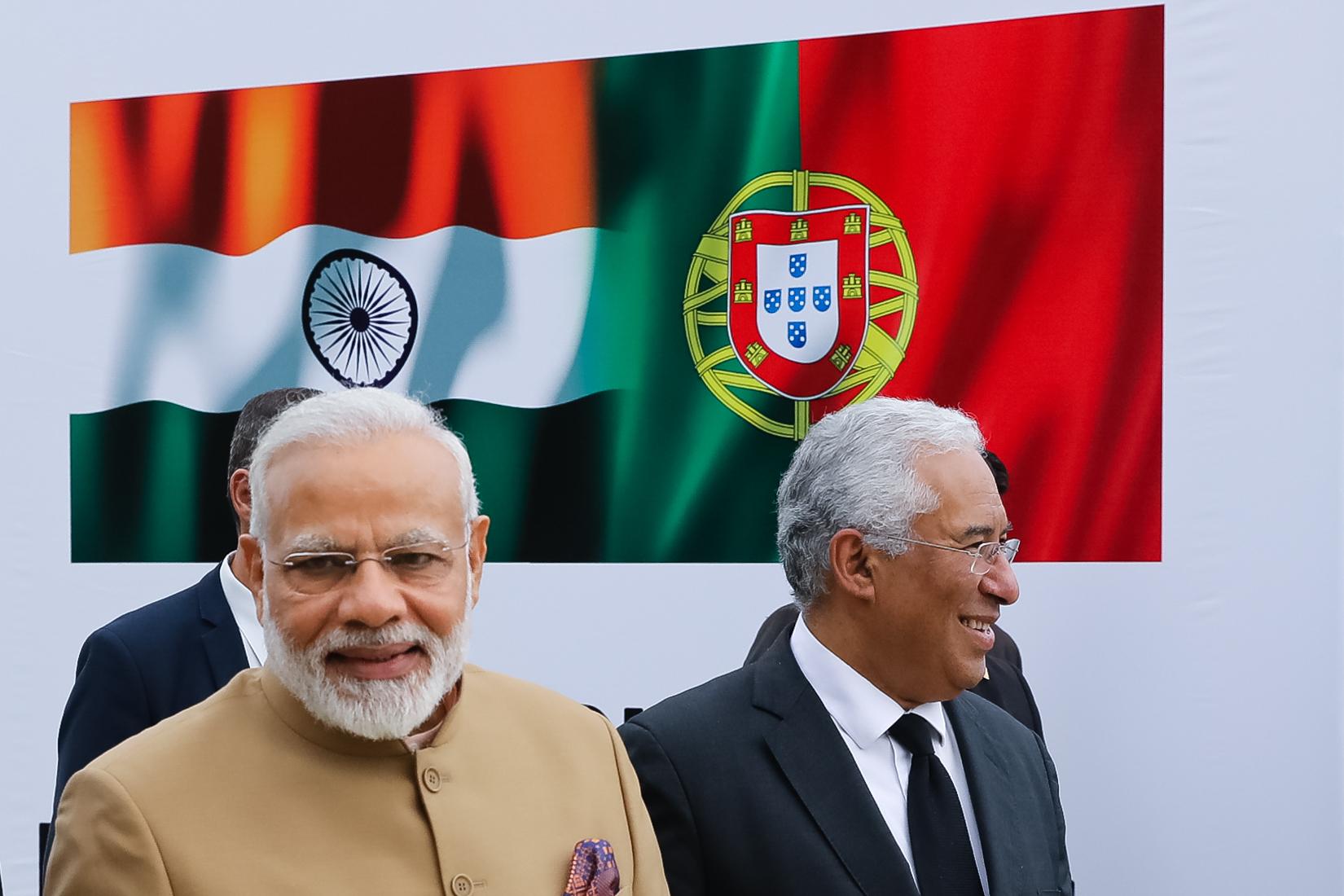 António Costa regressa à Índia na quinta-feira para reunião com Narendra Modi