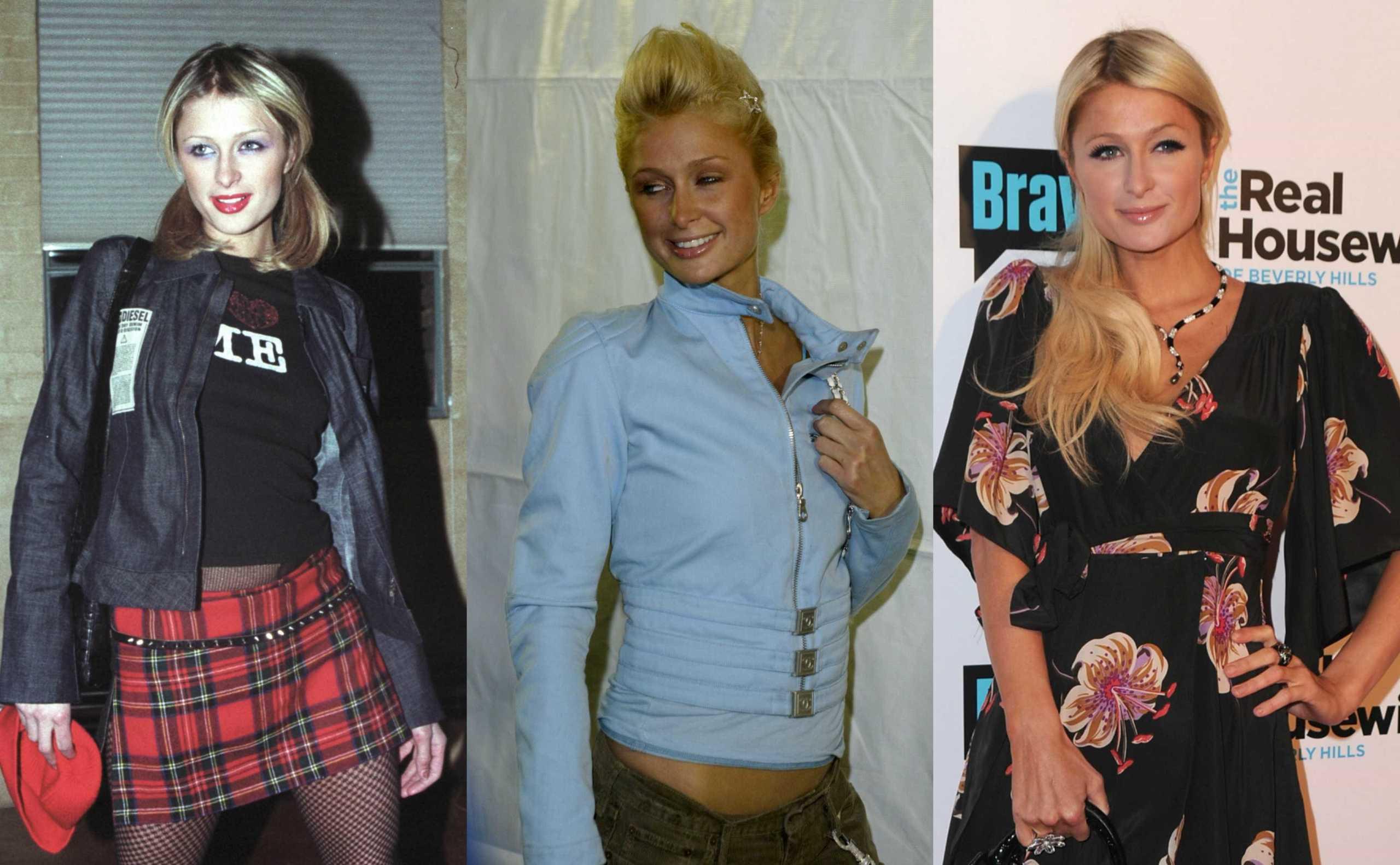 Moda: A evolução do estilo de Paris Hilton