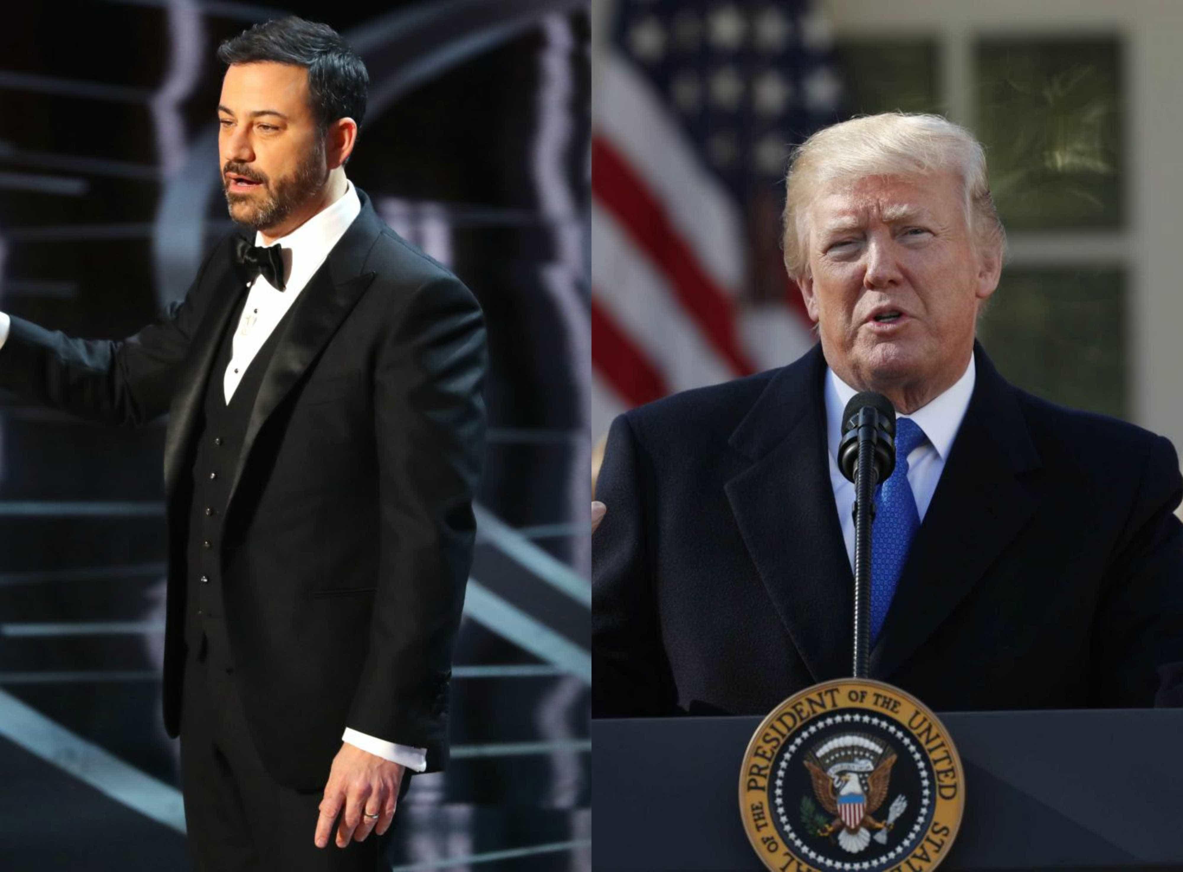 Tiroteio na Flórida: Jimmy Kimmel arrasa Donald Trump
