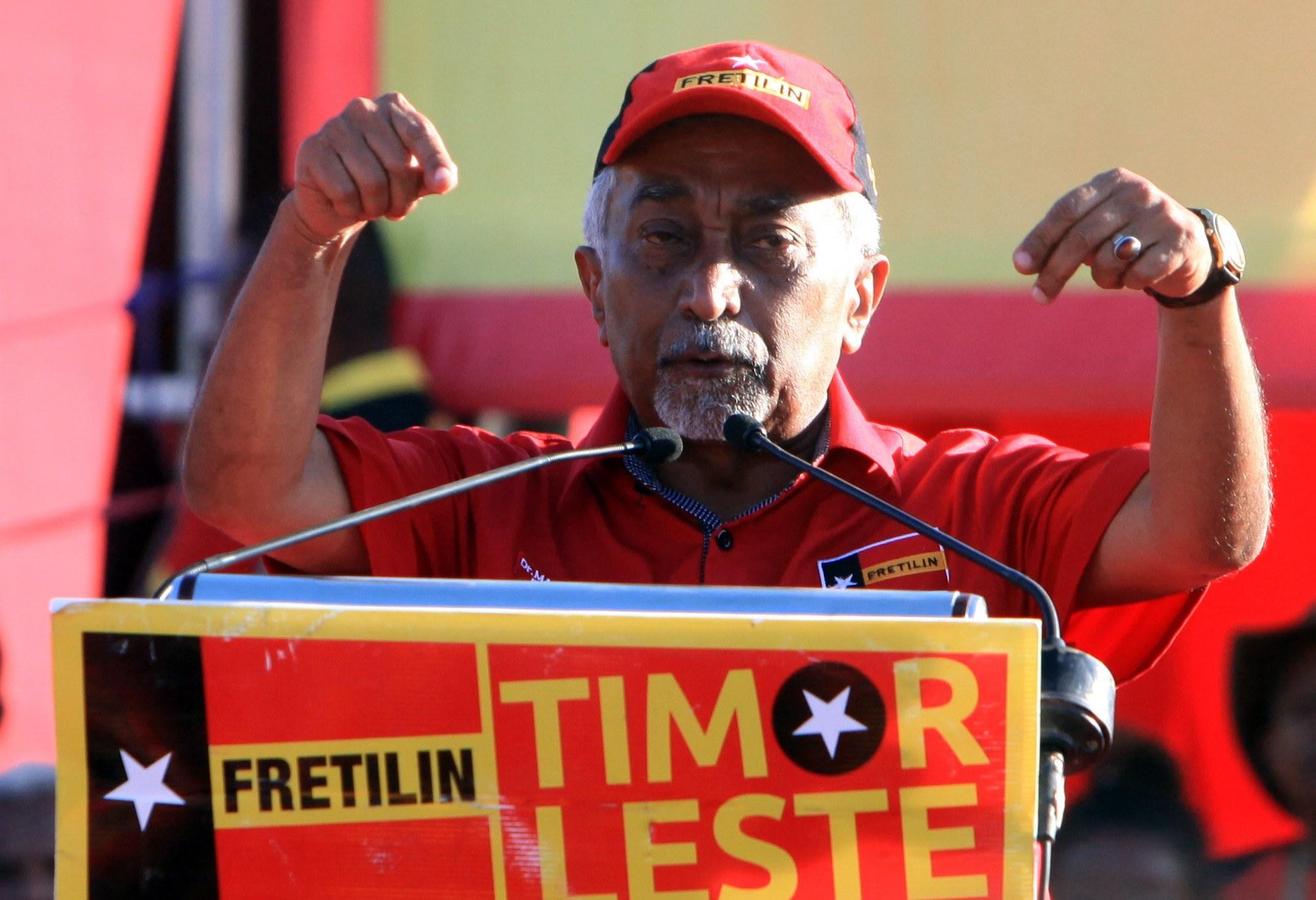 """Fretilin diz que nova coligação em Timor-Leste """"não tem qualquer futuro"""" e que PM foi usado"""