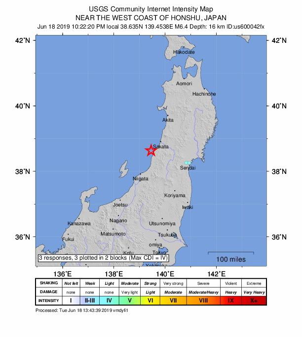 Autoridades levantam alerta de 'tsunami' após sismo na costa noroeste do Japão