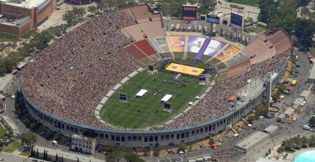 Legados dos Jogos - Memorial Coliseum