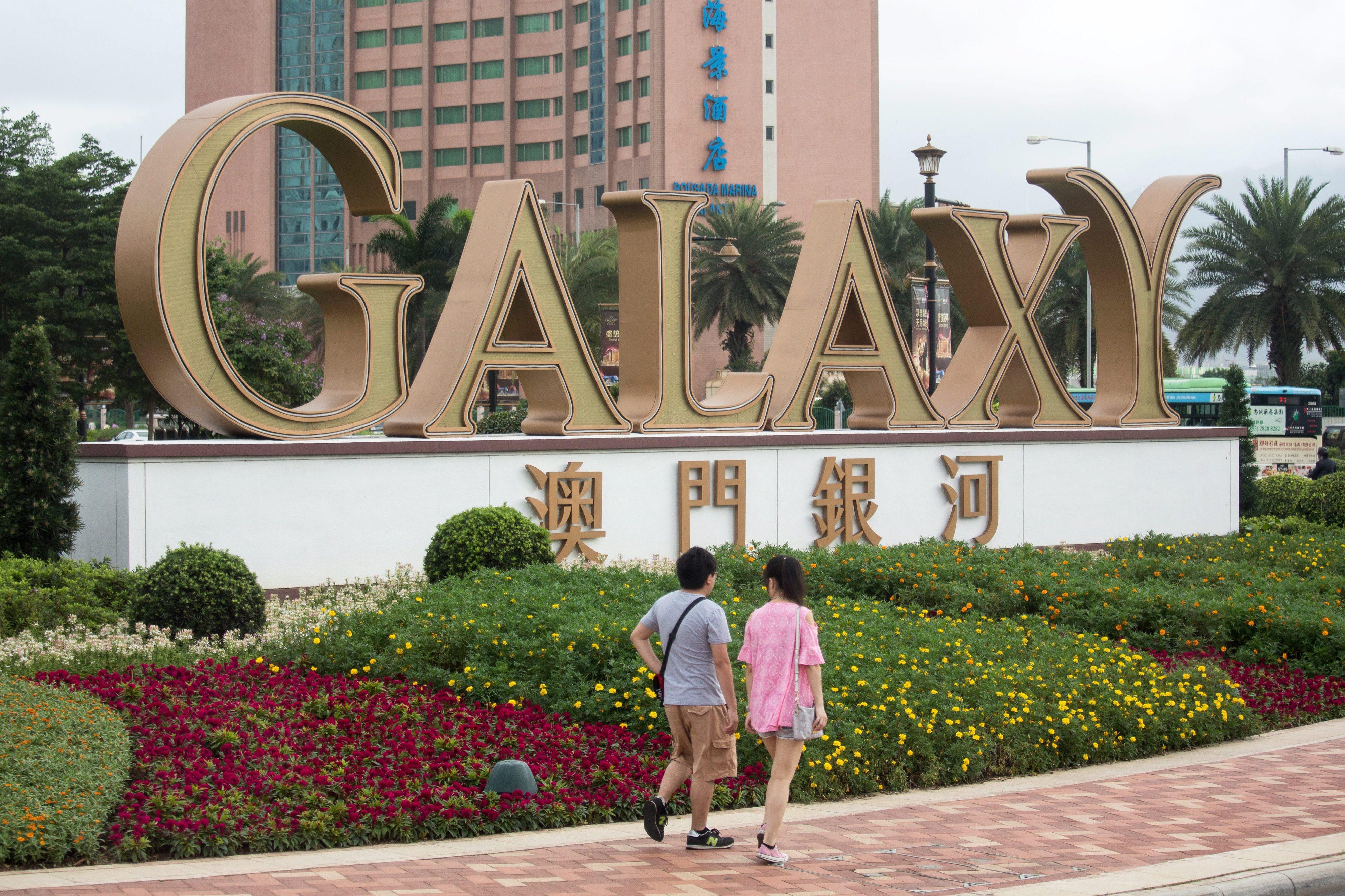 Lucros da operadora de jogo Galaxy sobem 26% no primeiro semestre em Macau