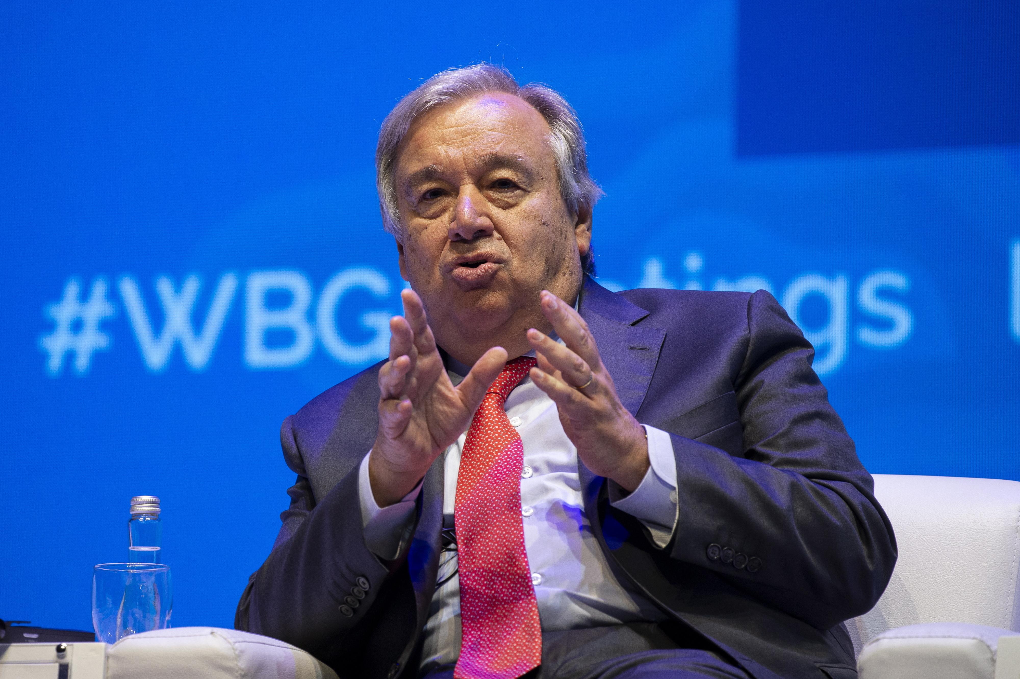 Guterres deseja que russos e norte-americanos resolvam divergências nucleares