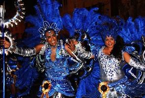 Samba Tropical na rua de Lisboa