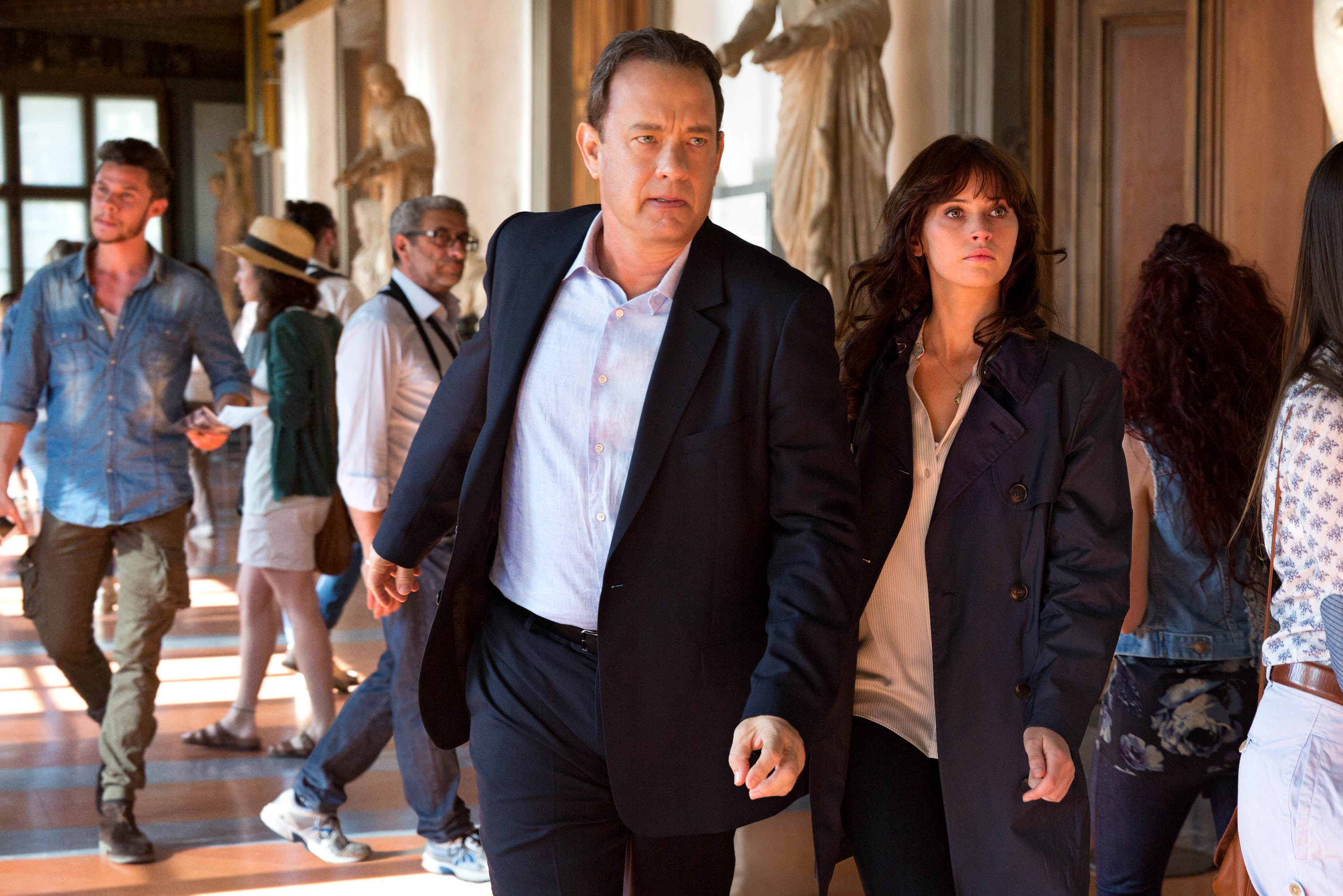 """""""Inferno"""": Tom Hanks volta à ação na nova sequela de """"O Código Da Vinci"""""""