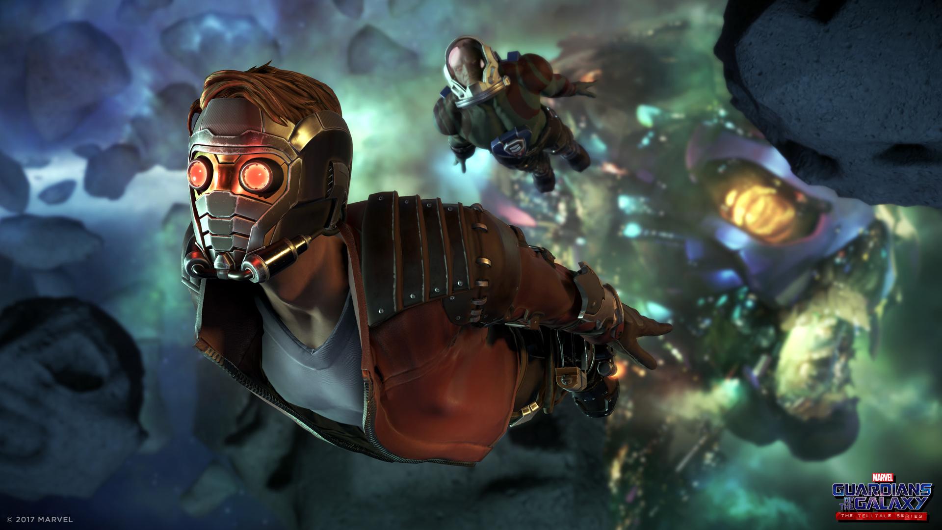 Proteja a galáxia com os guardiões da Marvel neste novo jogo da Telltale