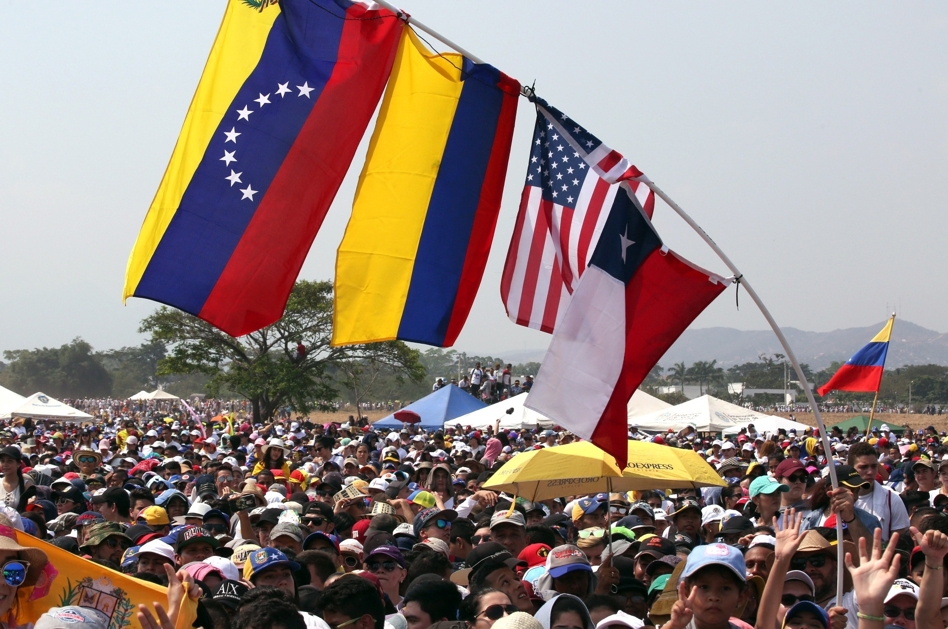 Milhares assistem ao concerto
