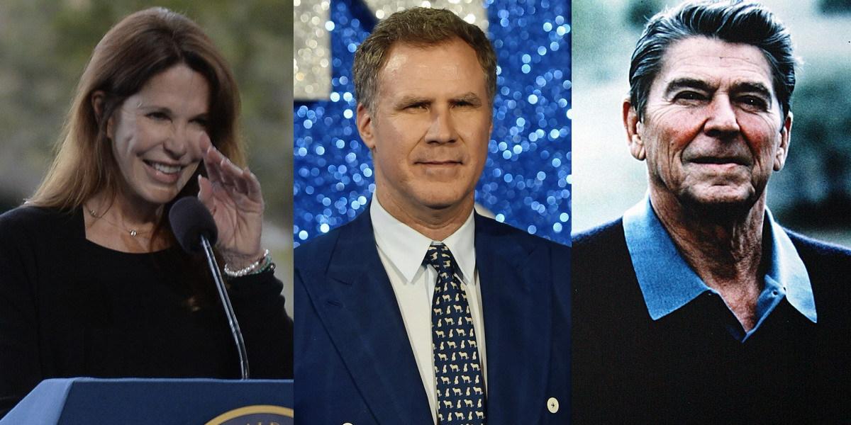 Filha de Ronald Reagan ataca Will Ferrell