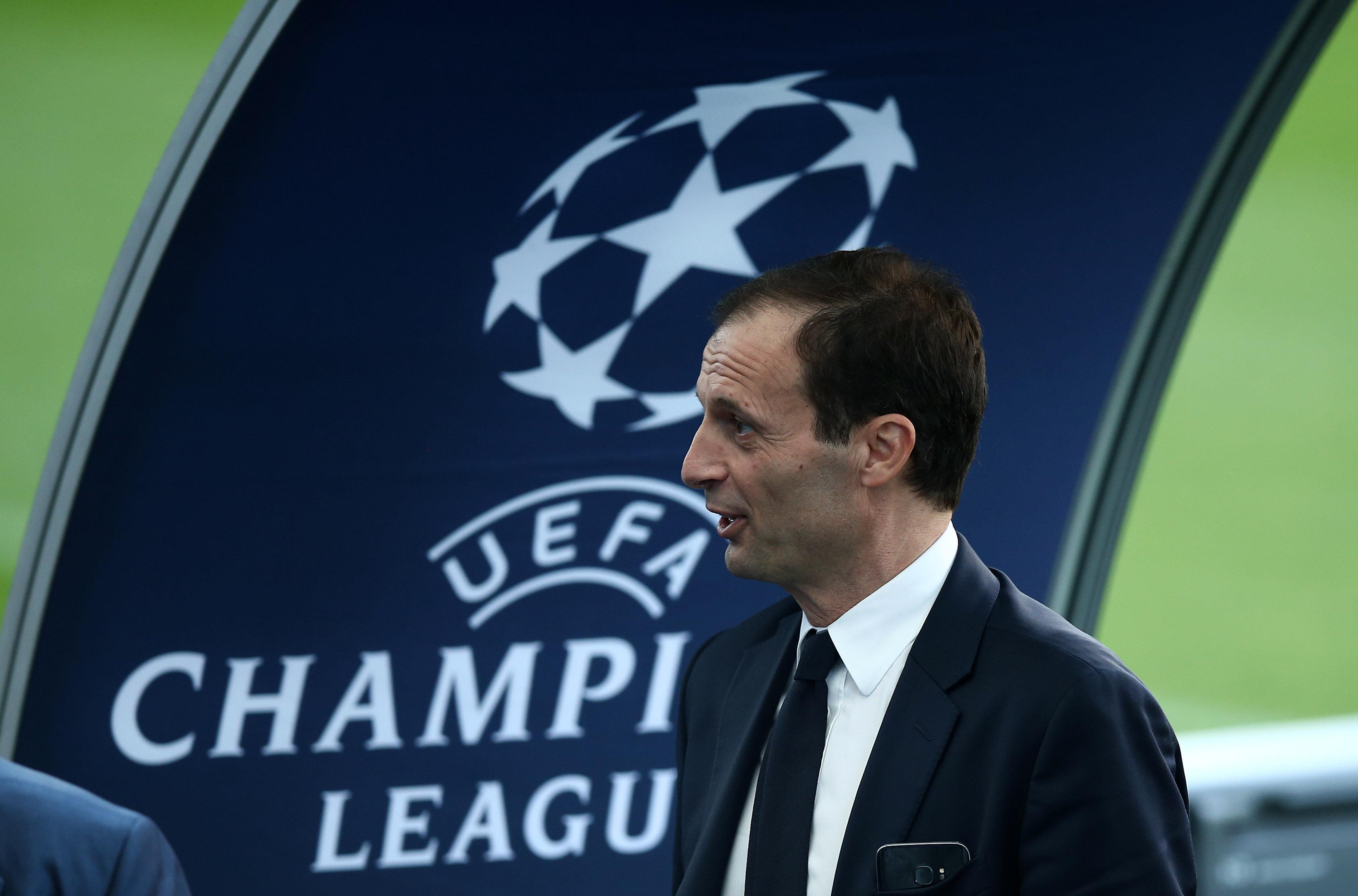 """Allegri vê Juventus em """"ótimas condições"""" e confirma Bonucci na bancada"""