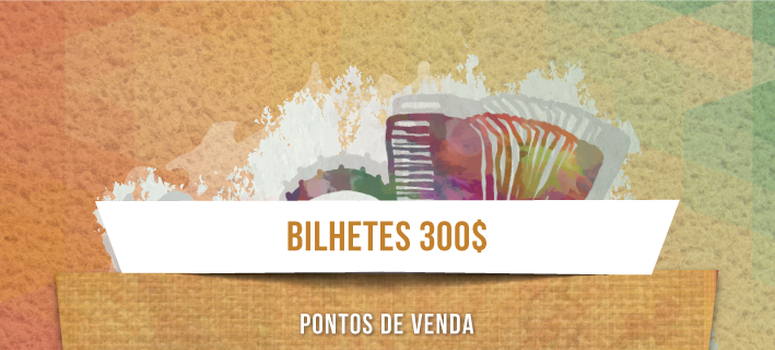 Bilhetes Gamboa 2016