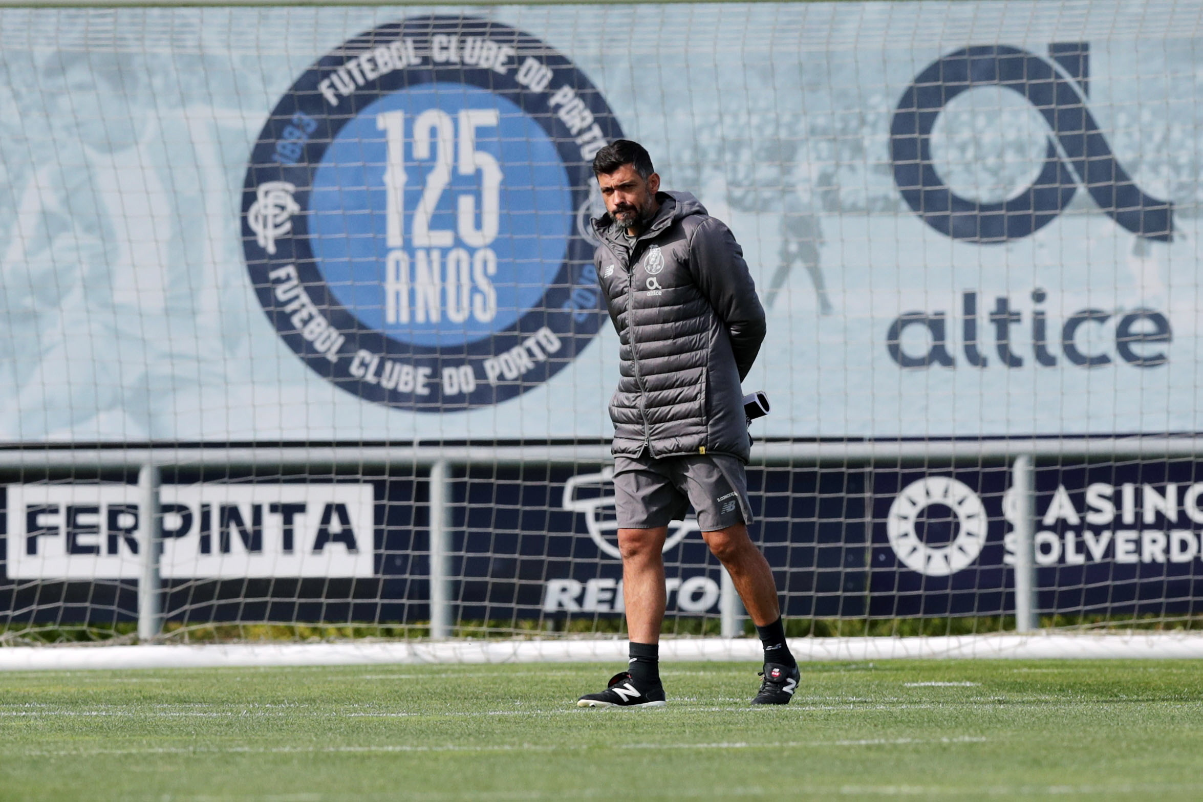 Sérgio Conceição não espera facilidades frente ao Santa Clara