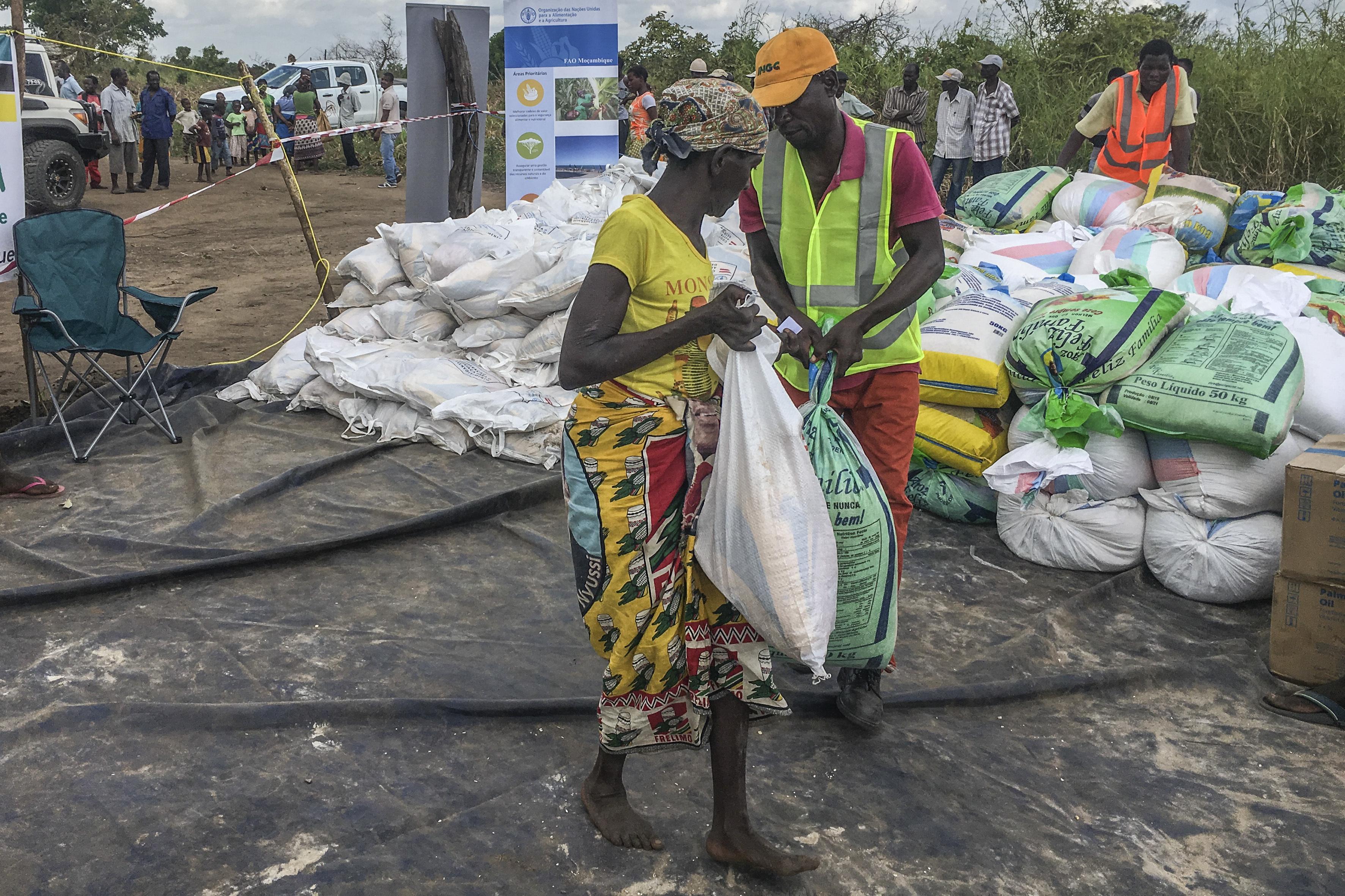 Autoridades moçambicanas estendem ajuda à região a sul do ciclone Kenneth