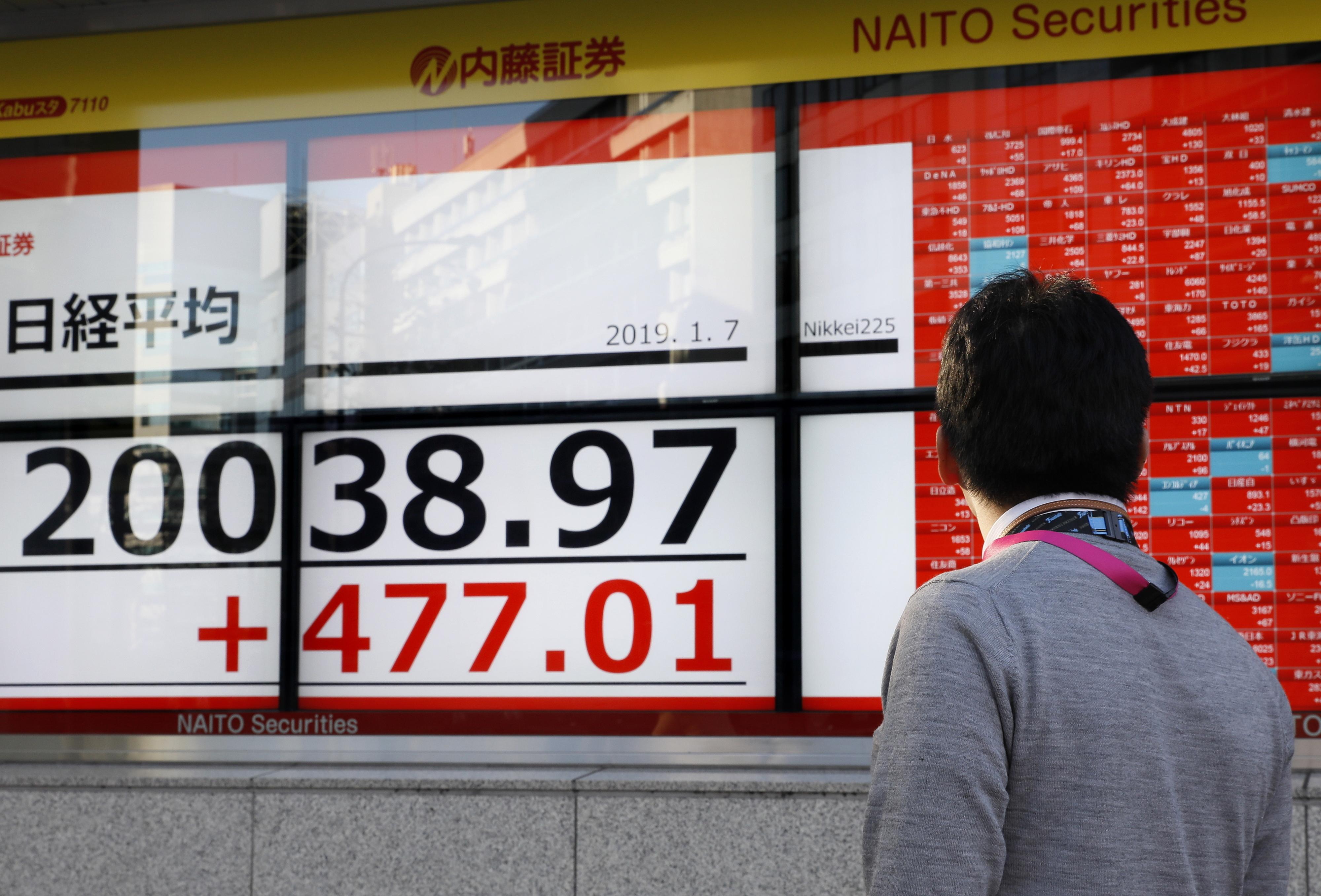 Bolsa de Tóquio abre em alta