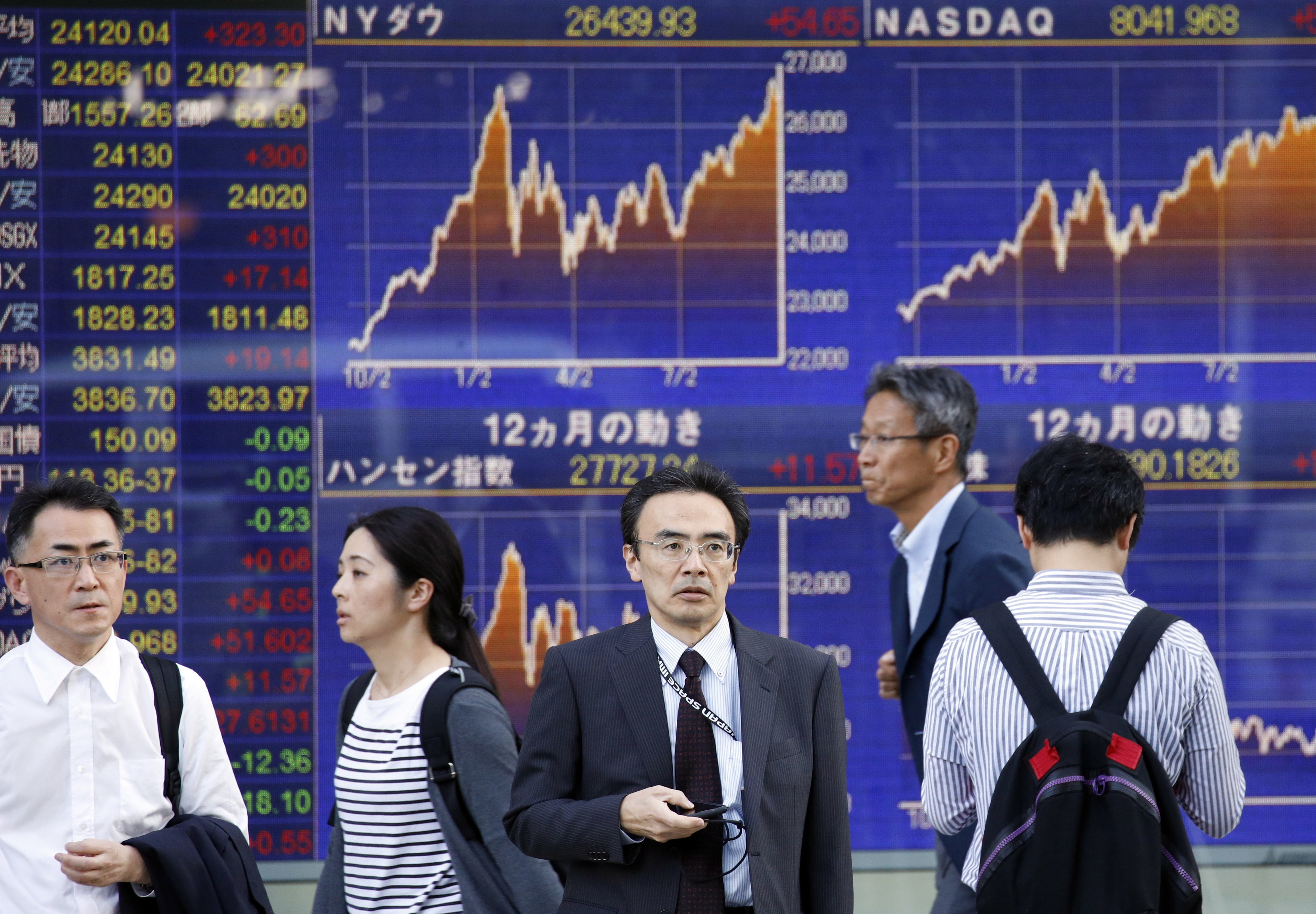 Bolsa de Tóquio abre em baixa