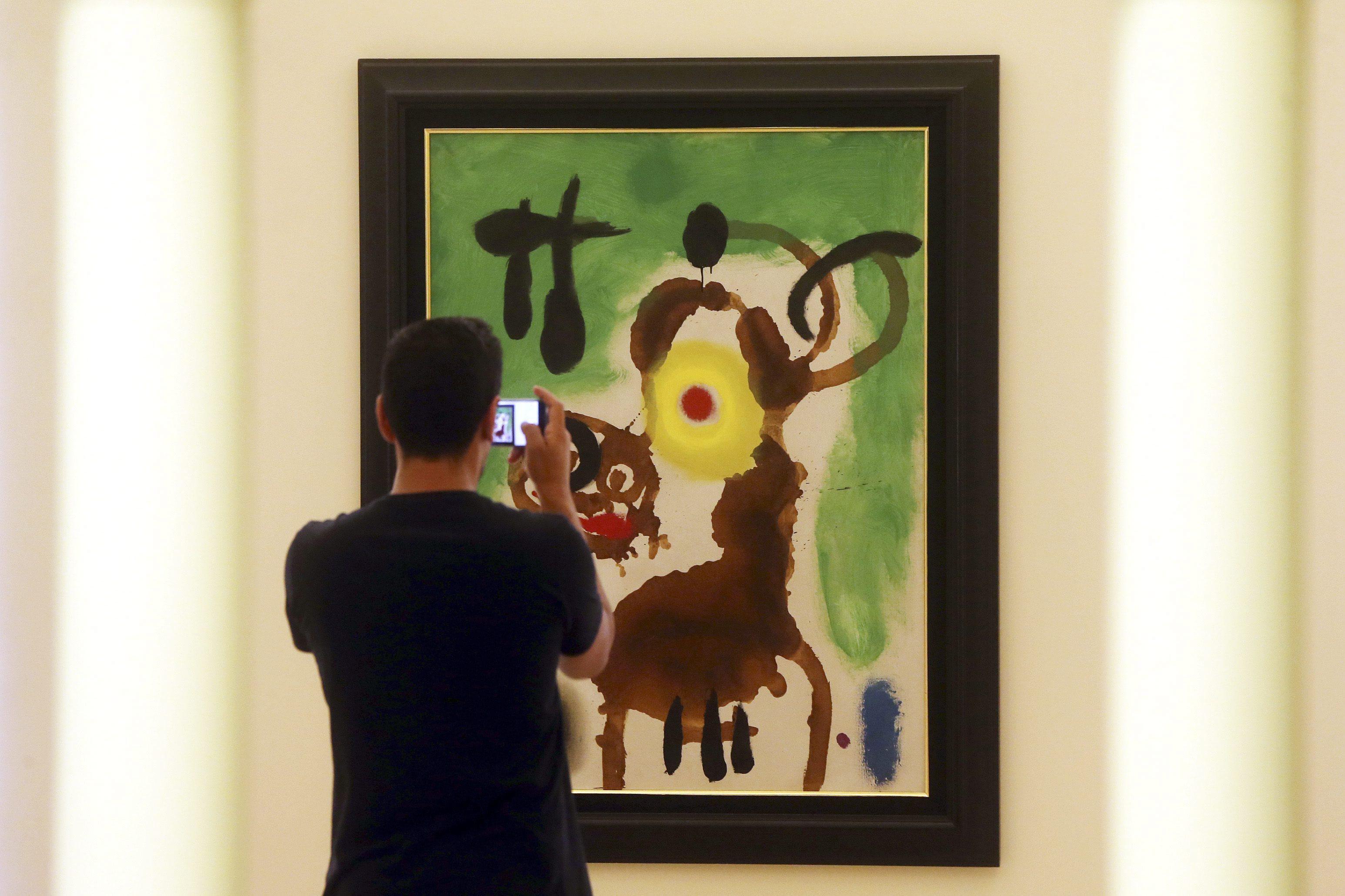 Serralves prolonga exposição de Joan Miró até 04 de junho por adesão do público