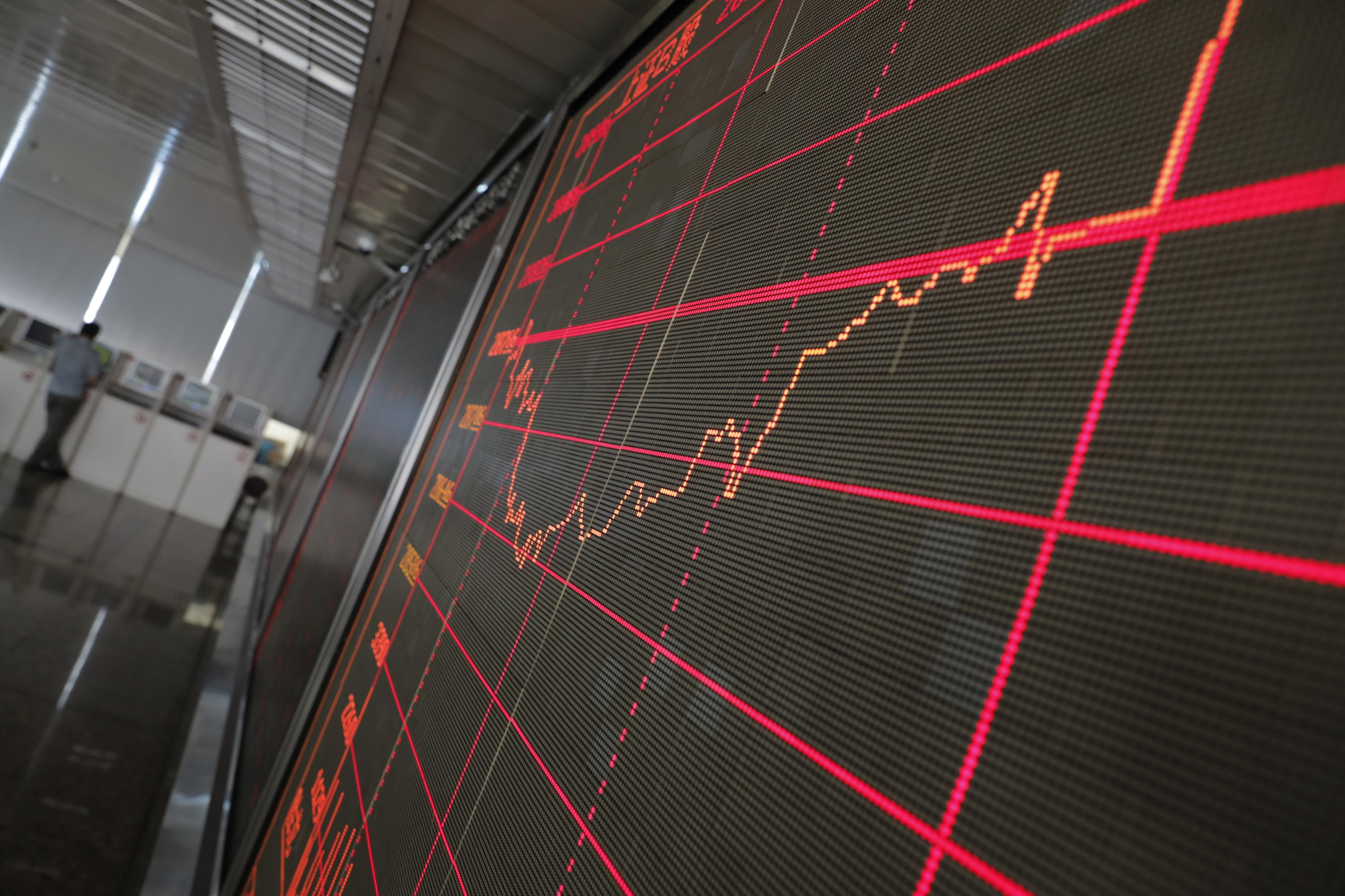 Bolsa de Xangai abriu a cair 0,29%