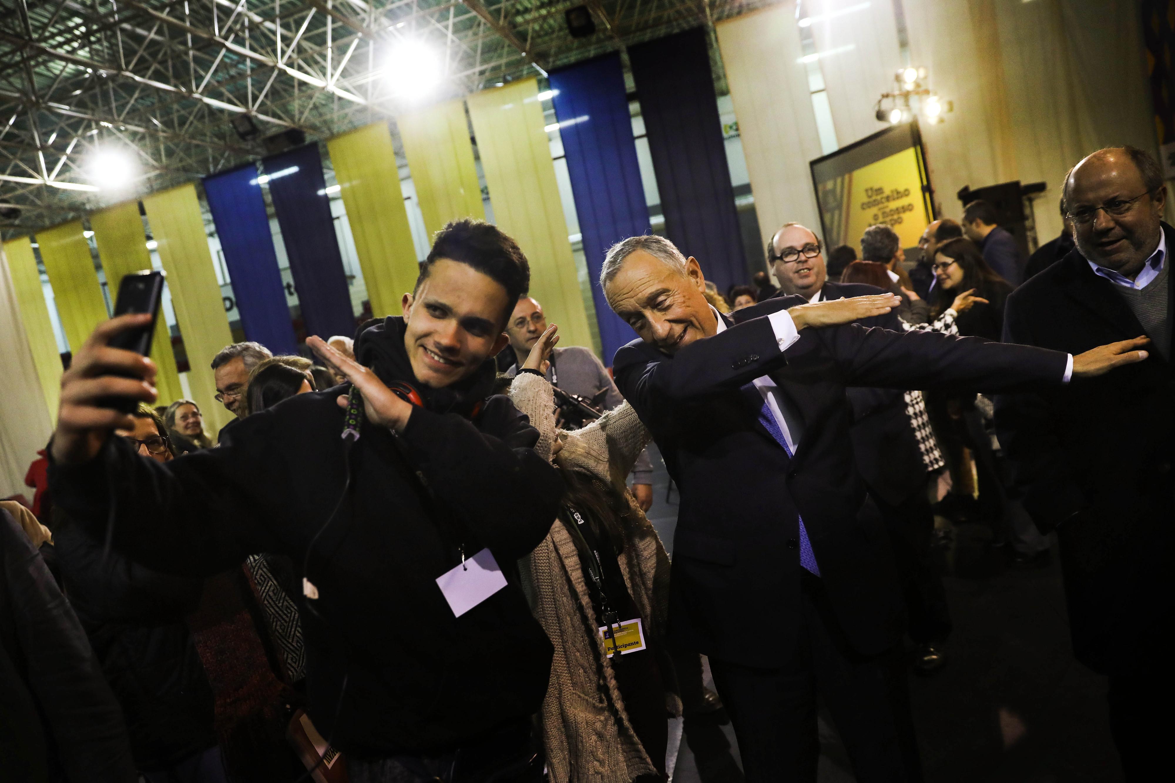 Marcelo Rebelo de Sousa recebe a UGT para abordar TSU