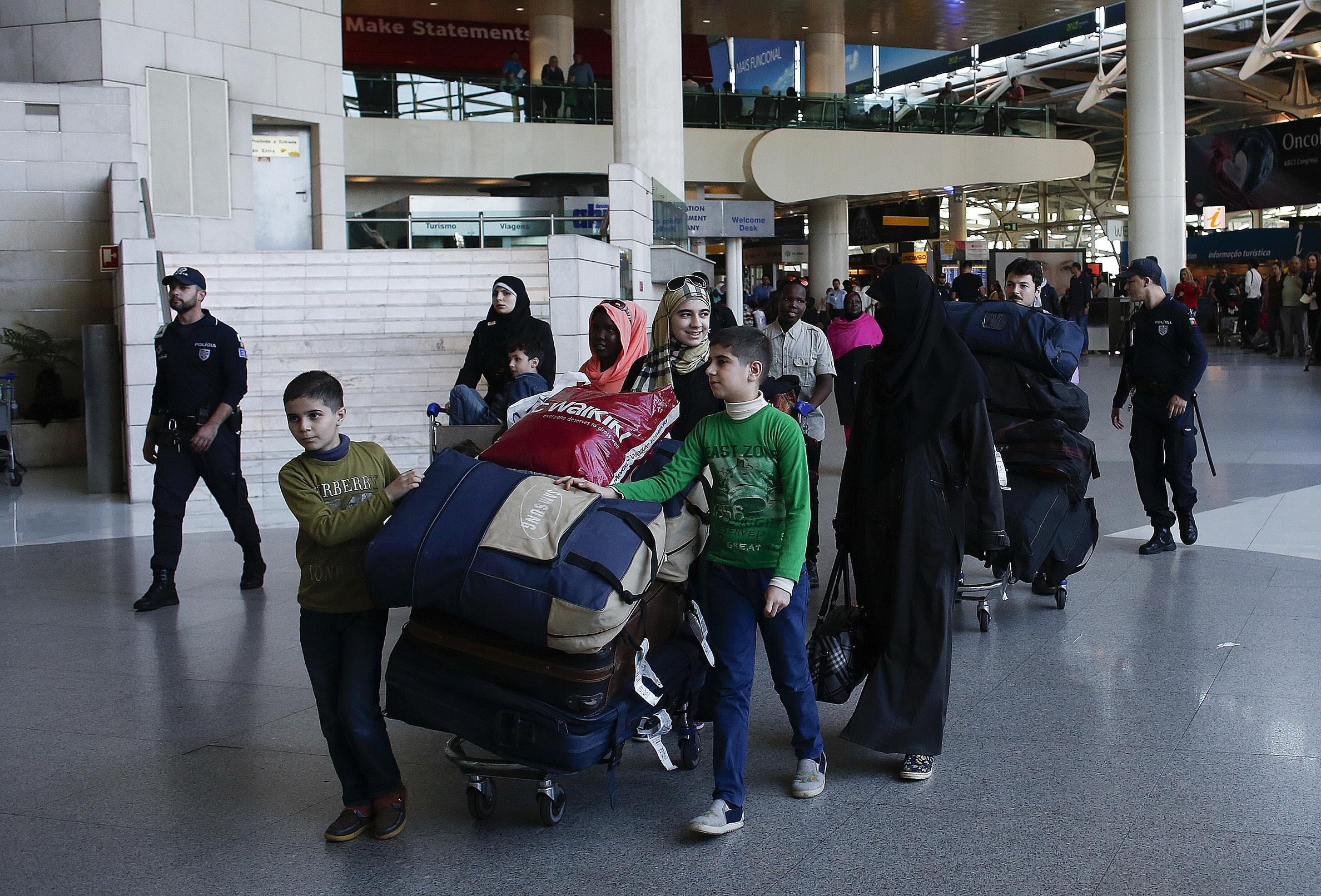 Portugal já acolheu mais de 1.800 refugiados desde 2015
