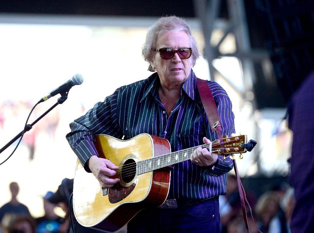 """Don McLean, cantor de """"American Pie"""", declarado culpado por violência doméstica"""
