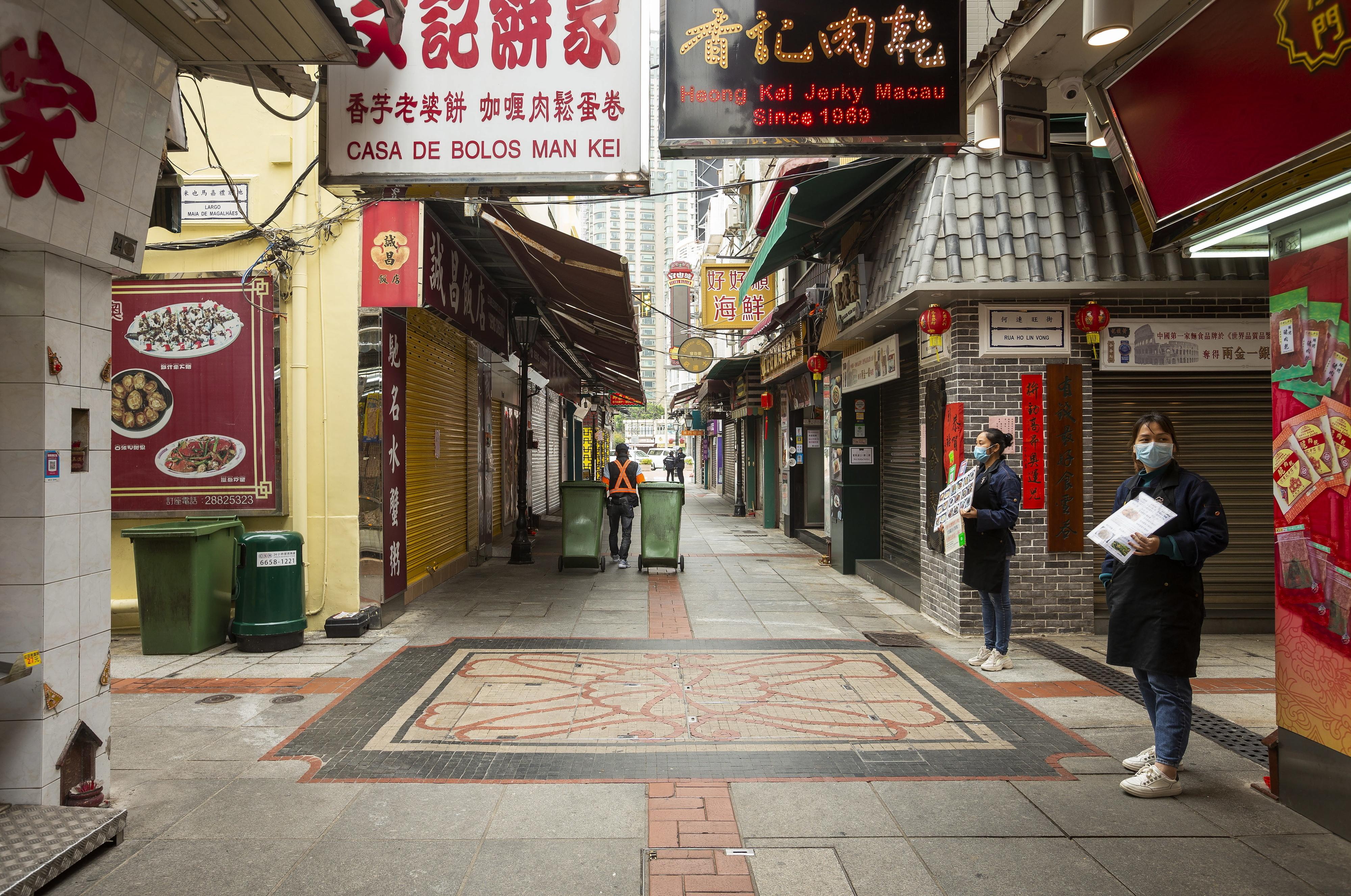 Novo caso em Macau faz subir para 43 o número de infetados