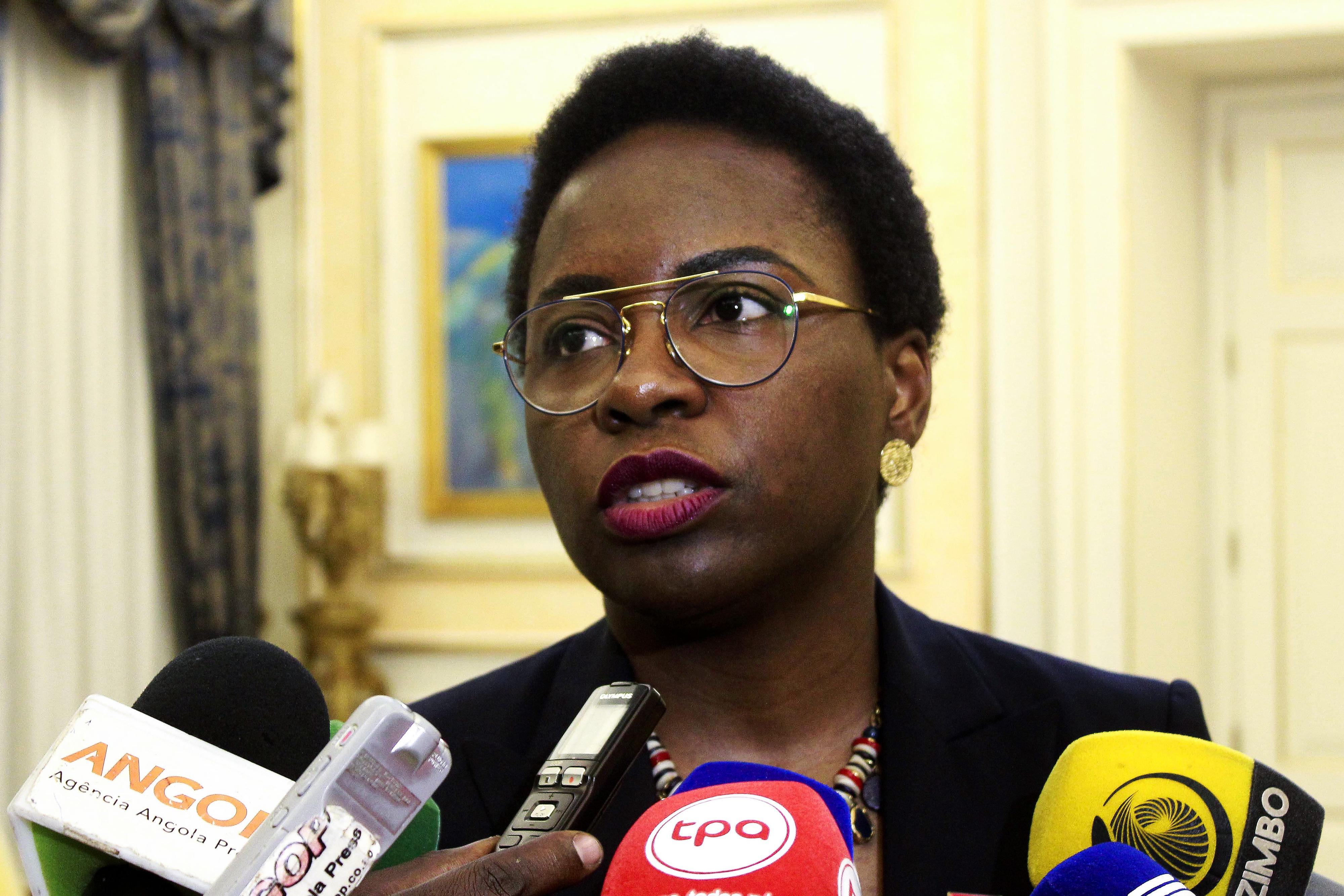 Ministra das Finanças de Angola diz que combate à criminalidade é prioridade