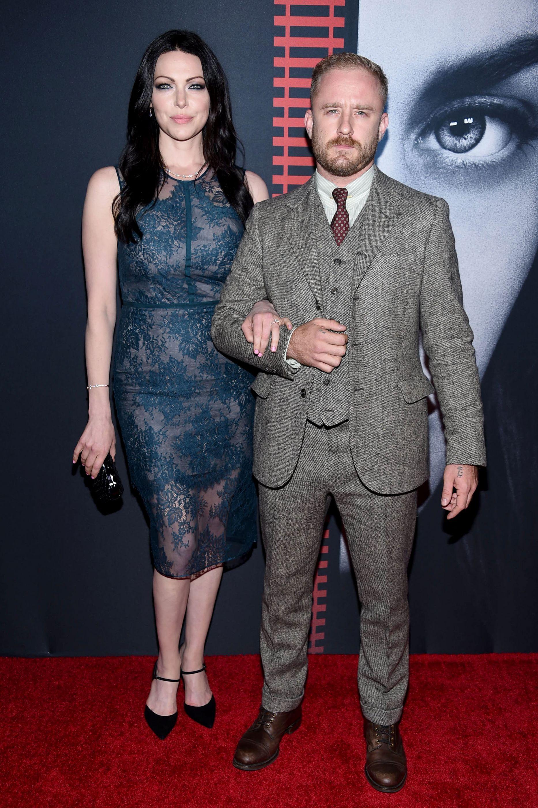 Laura Prepon e Ben Foster vão ser pais