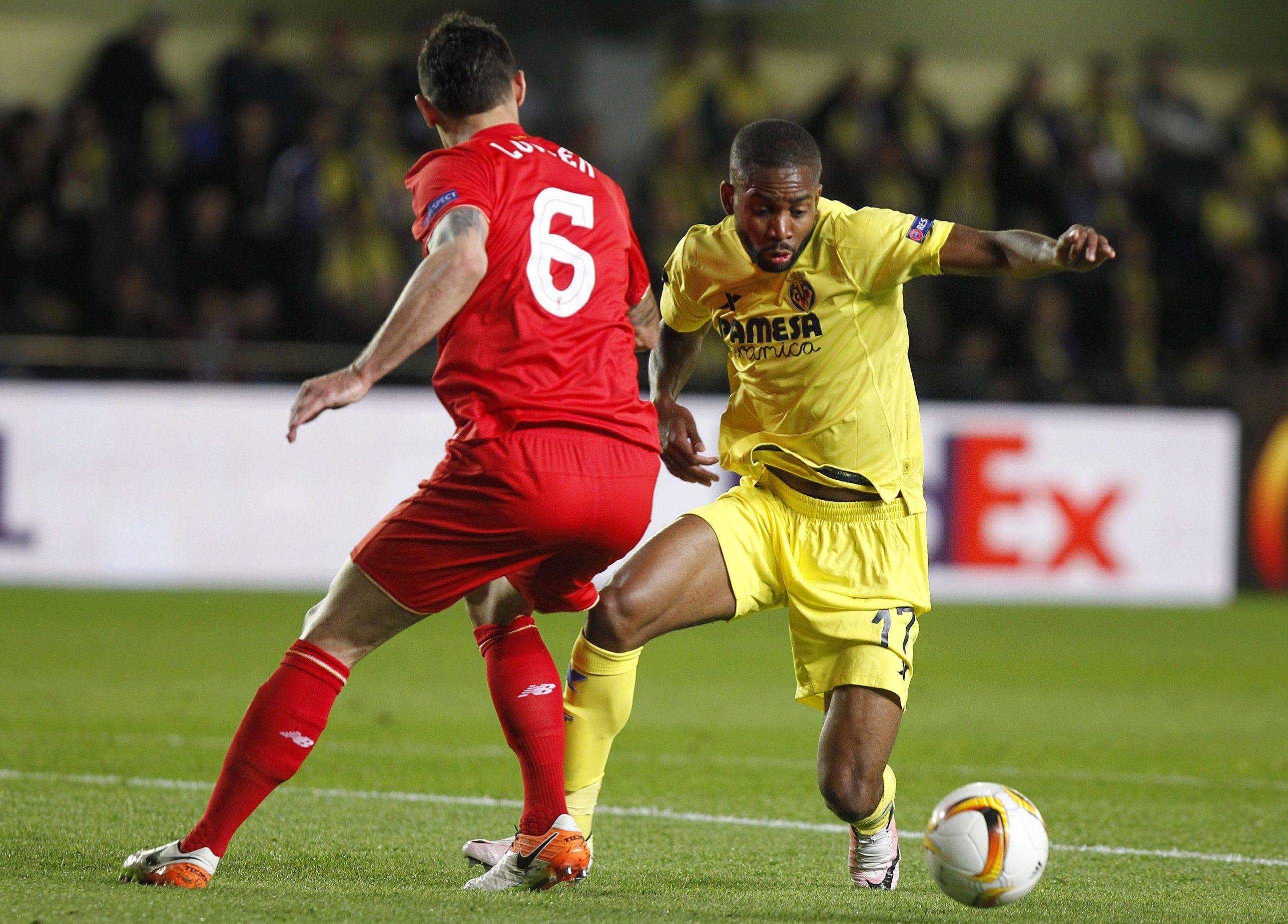 Villarreal bate Liverpool e Sevilha empata na Ucrânia nas meias-finais da Liga Europa