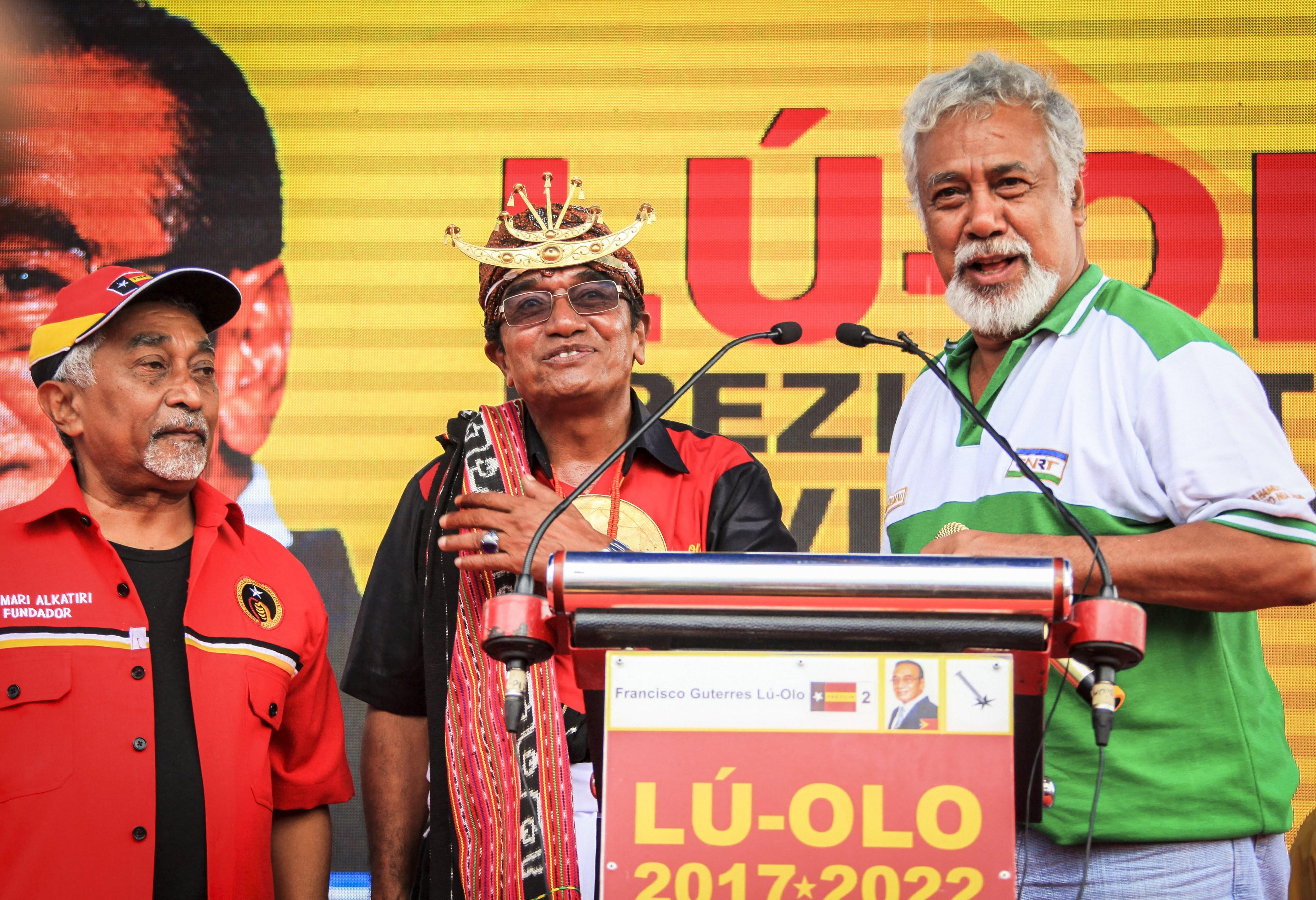 Presidente eleito timorense agradece apoio, promete ser chefe de Estado de todos