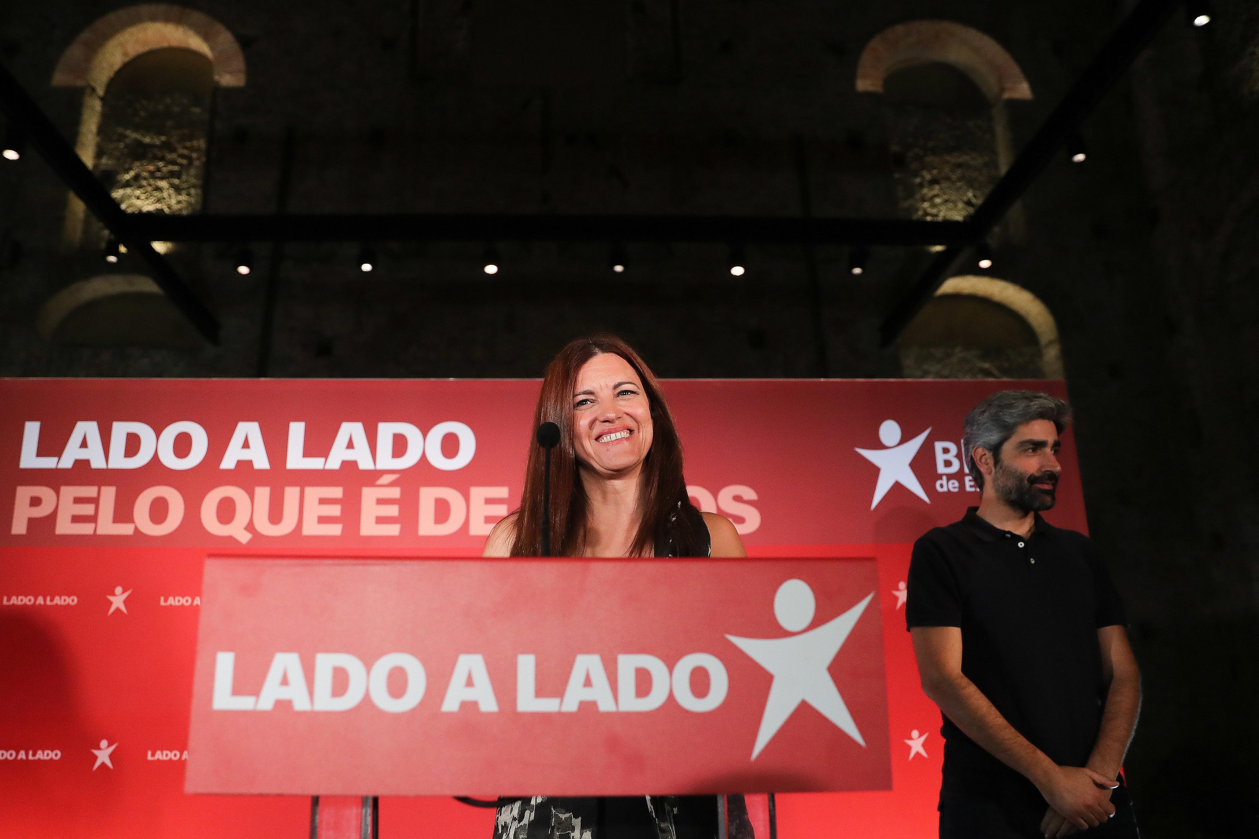 """""""Com esta eleição cumprimos todos os objetivos que traçámos"""", diz Marisa Matias"""