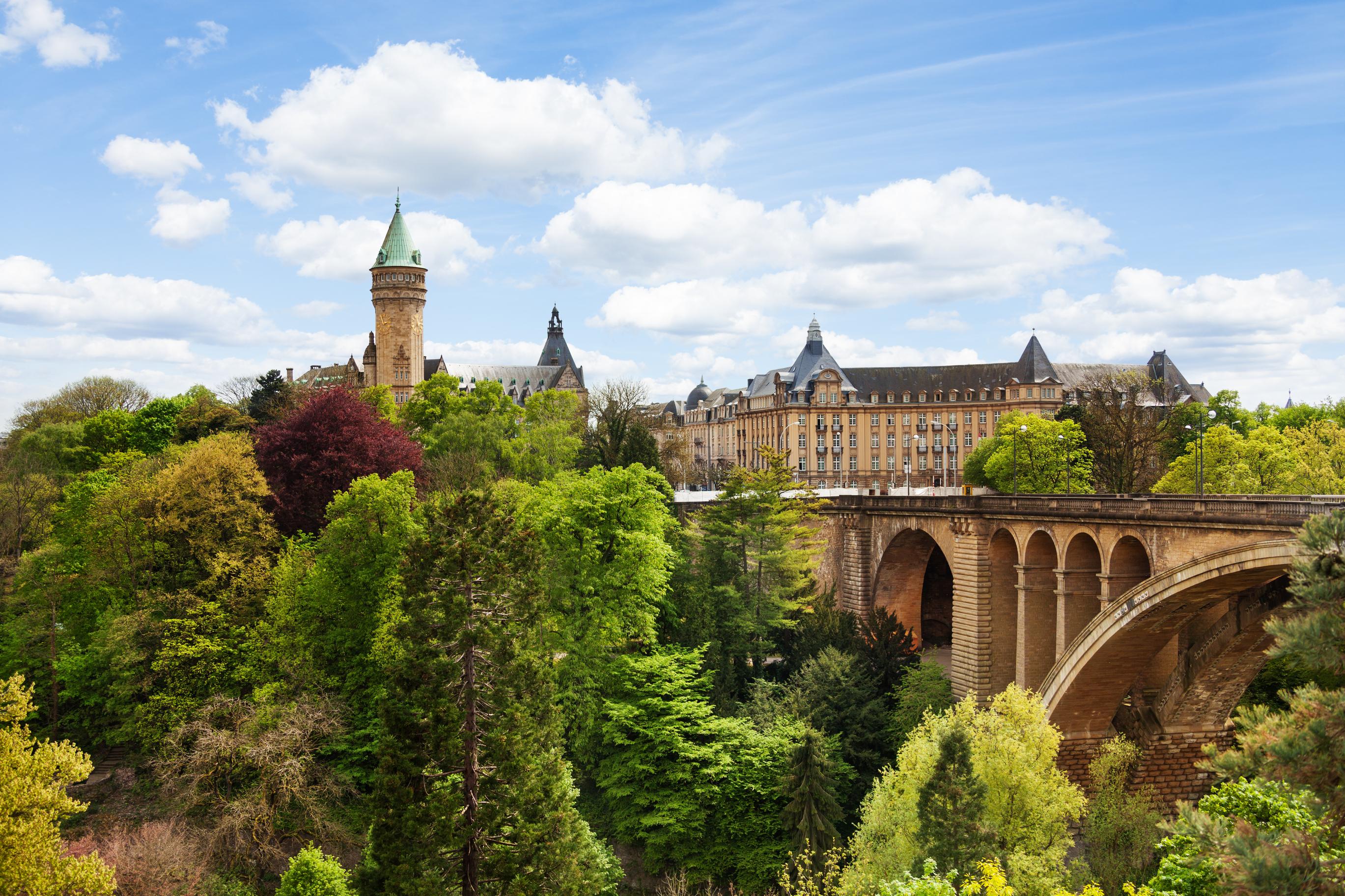24 horas na Cidade do Luxemburgo