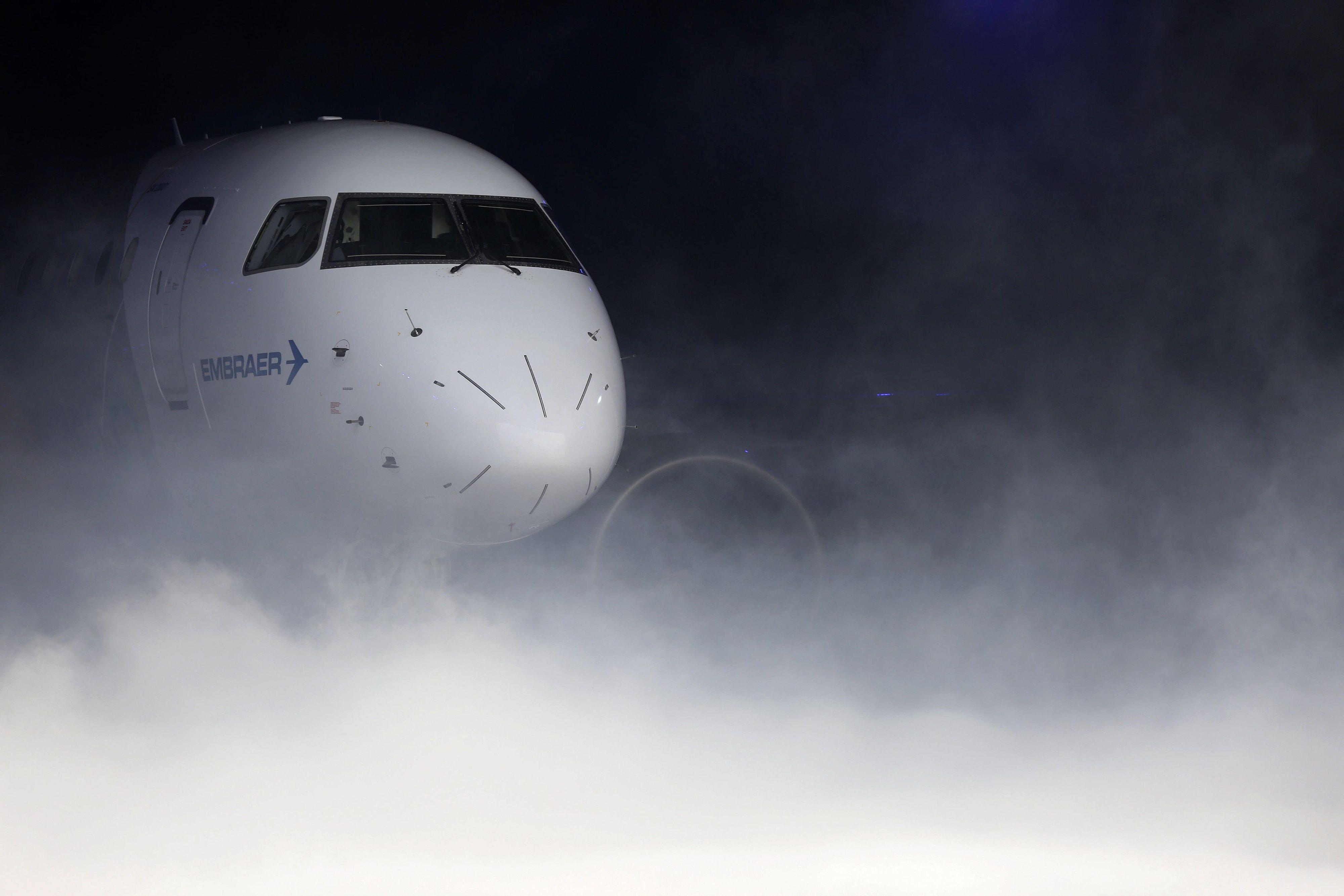 Embraer prevê procura de 10.550 aeronaves com até 150 lugares nos próximos 20 anos