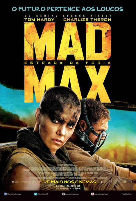 Poster do filme Mad Max: Estrada da Fúria