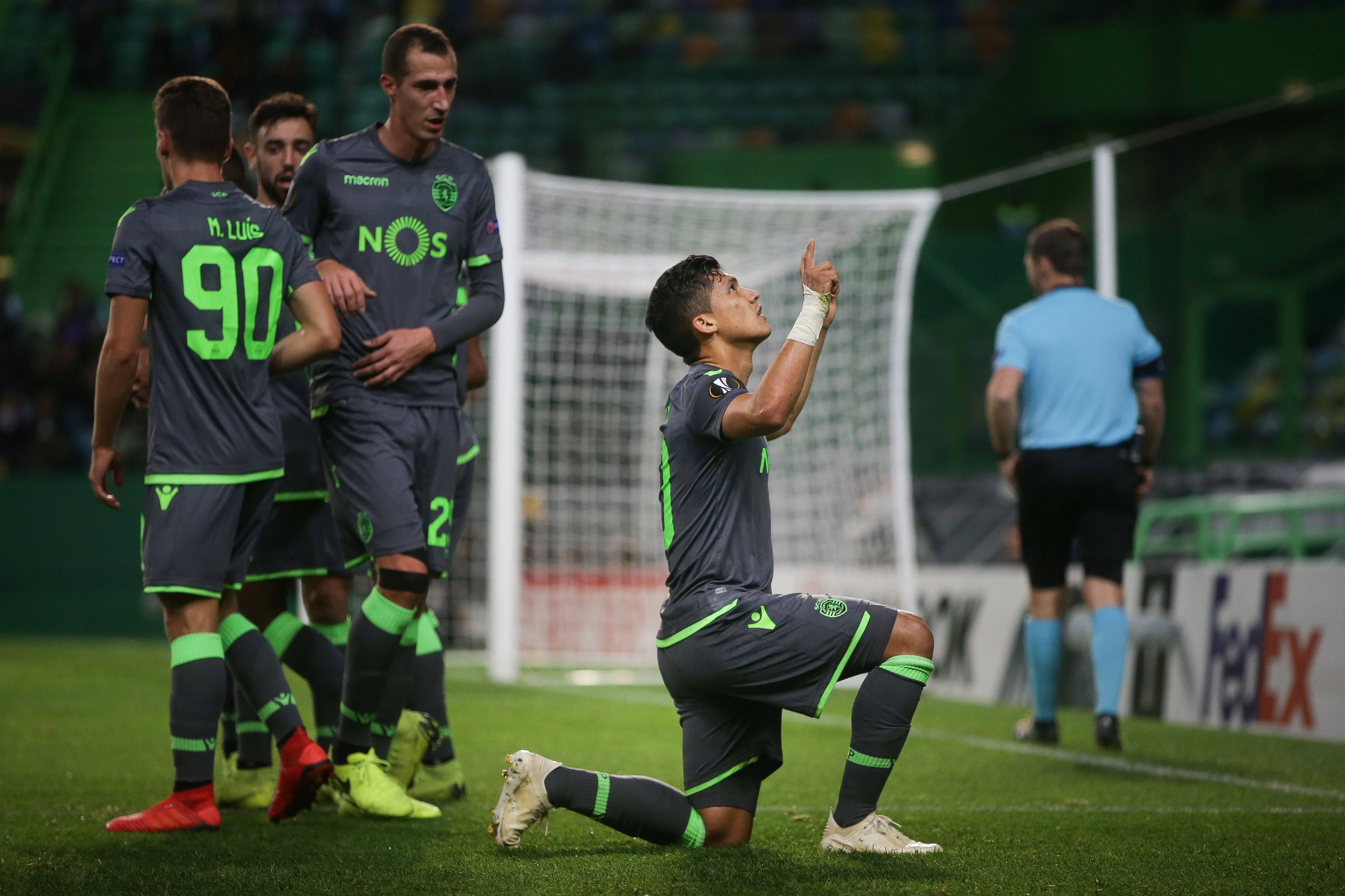 Sporting vence Vorskla Poltava no fecho da fase de grupos da Liga Europa