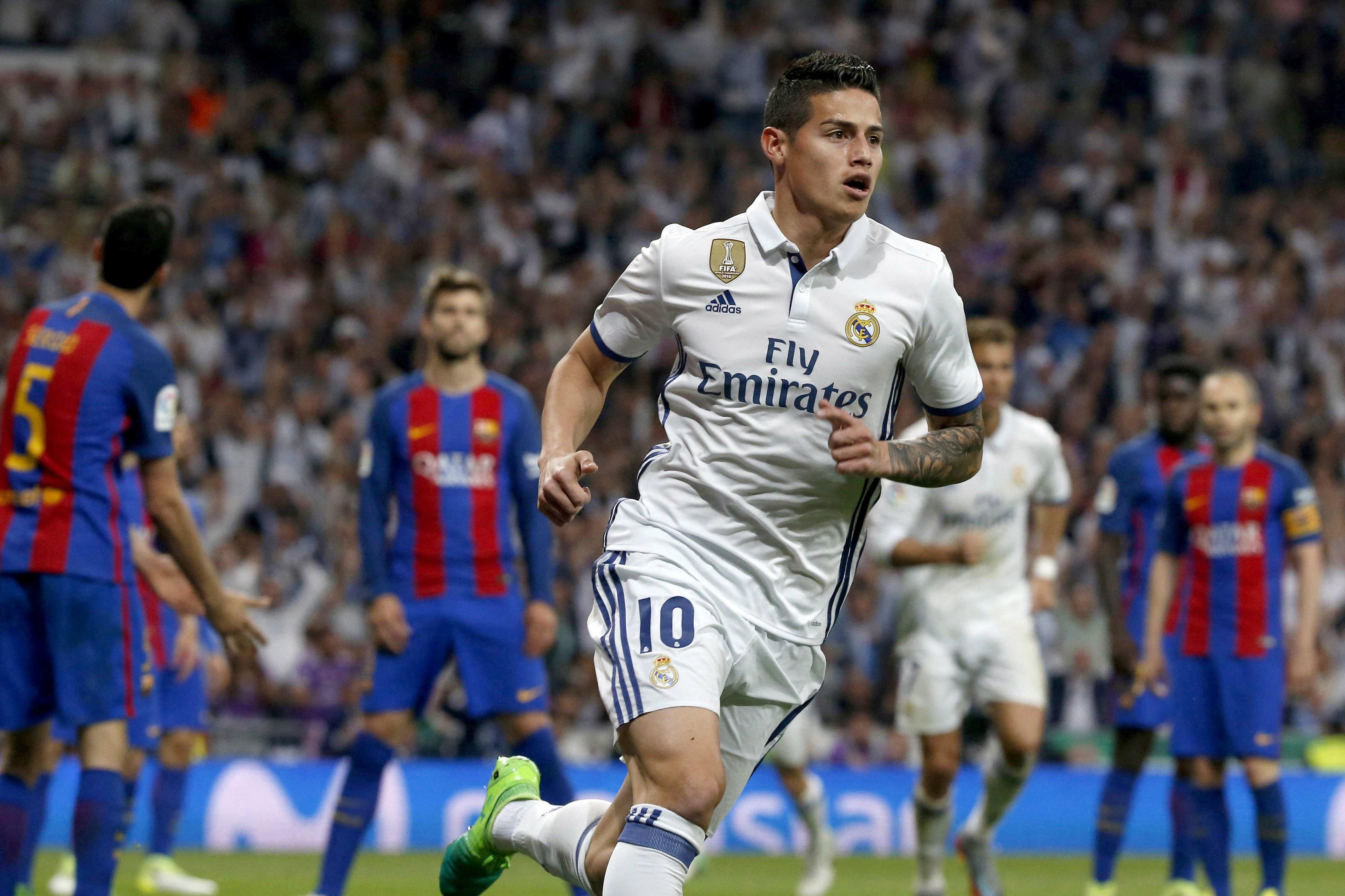 Real Madrid goleia sem Ronaldo e continua em igualdade com o FC Barcelona