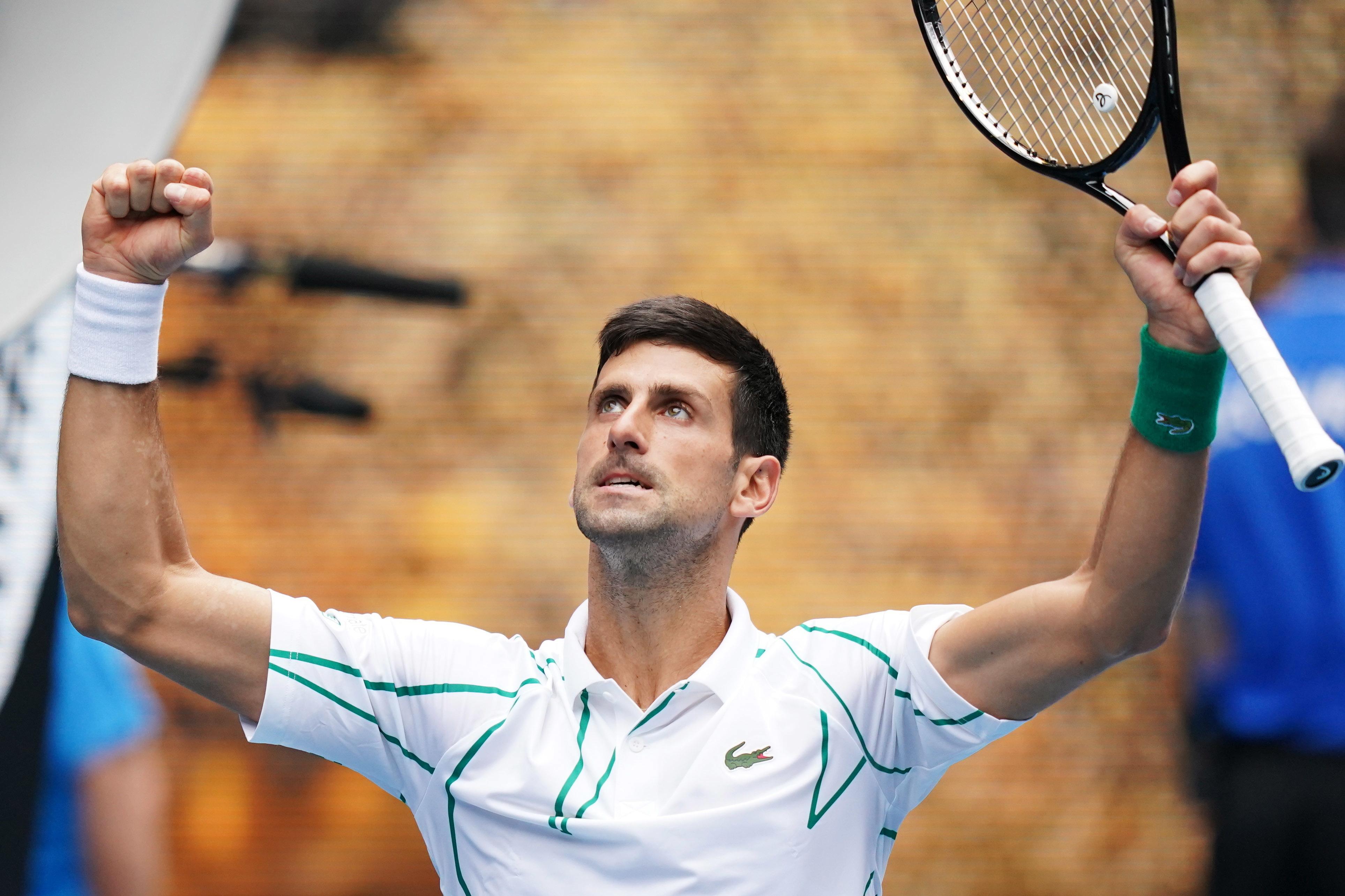 Djokovic elimina Nishioka e avança para os 'oitavos'