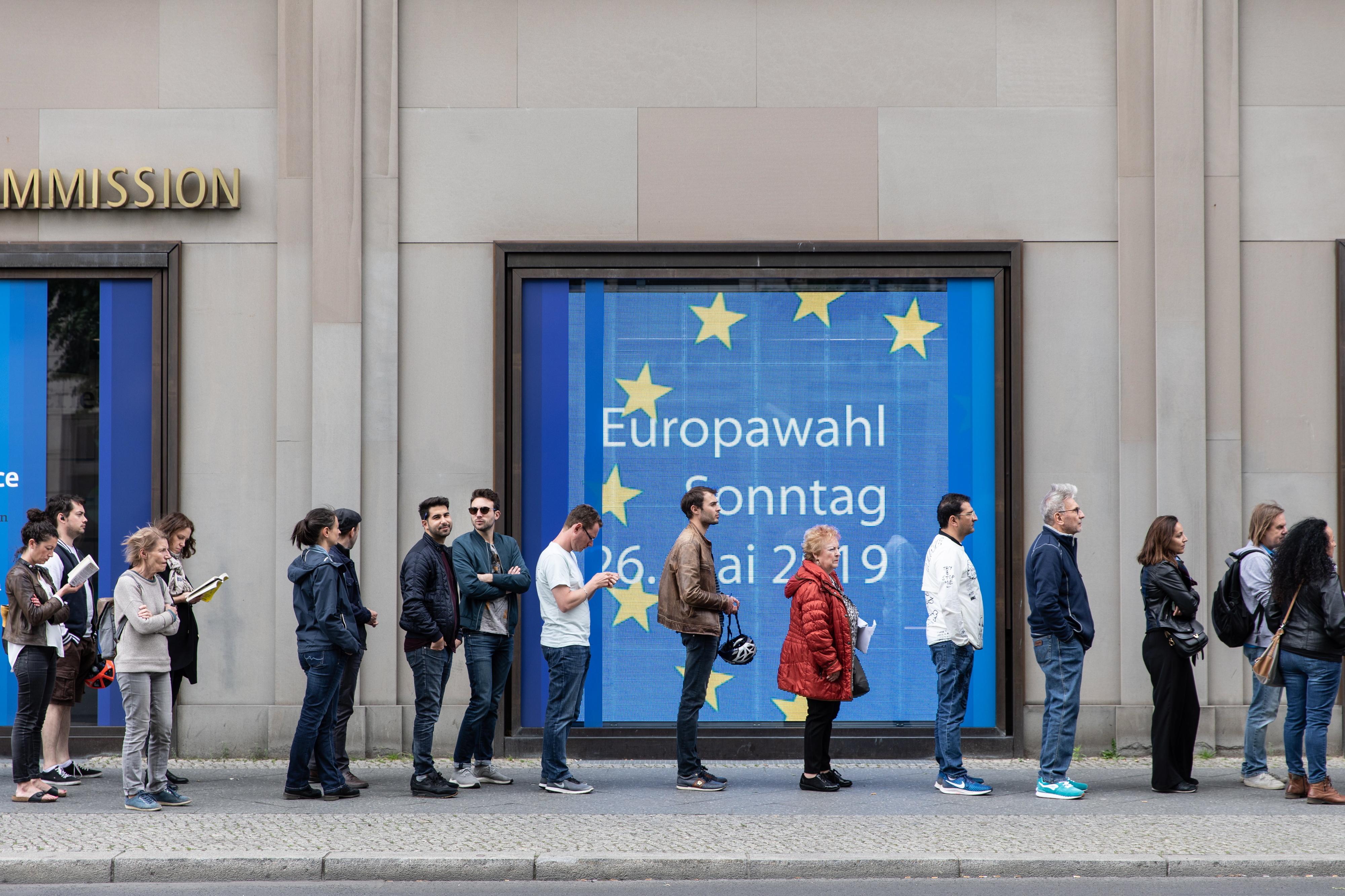 Participação na UE é a maior em 20 anos - PE