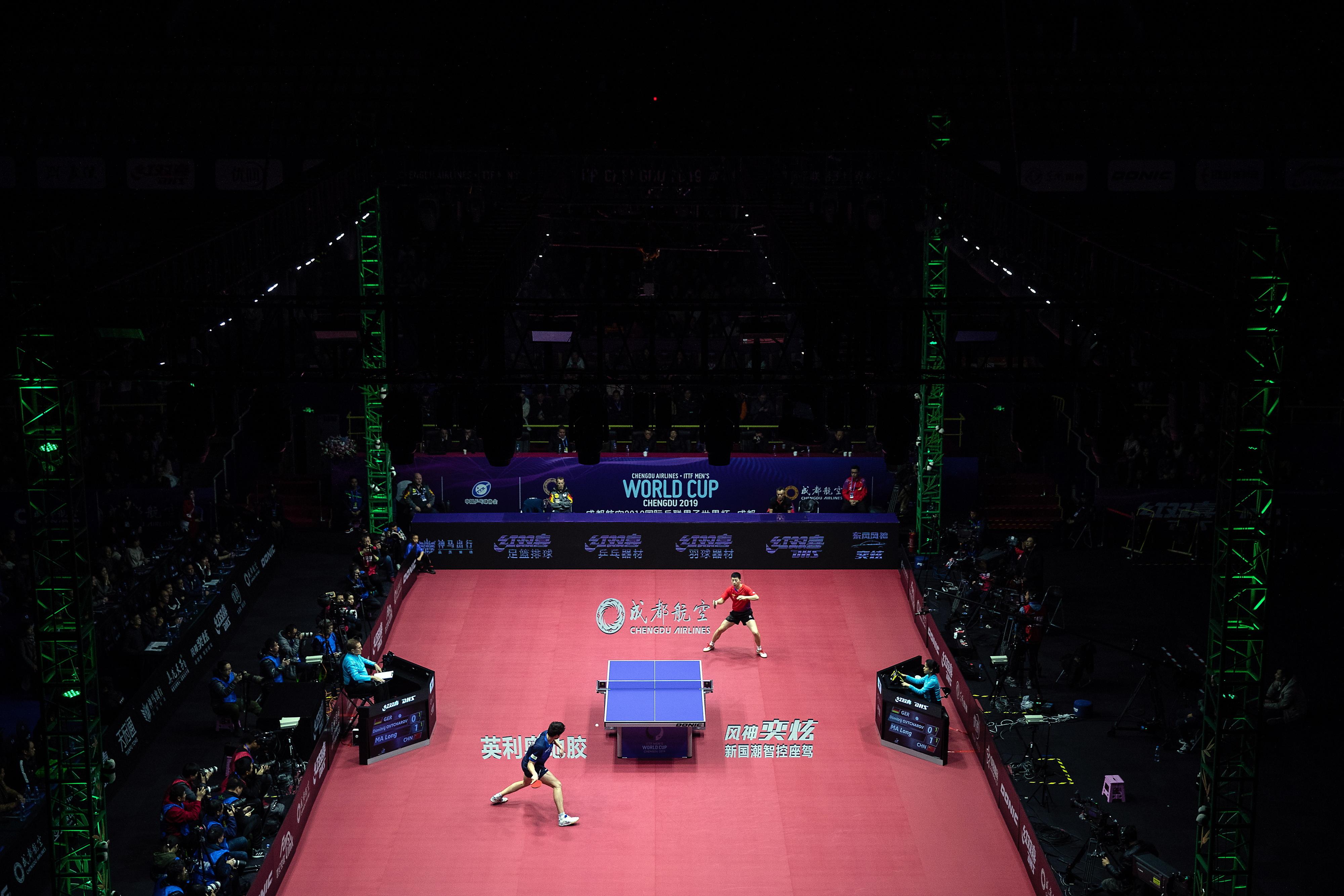 Mundiais de equipas de ténis de mesa de 27 de setembro a 04 de outubro